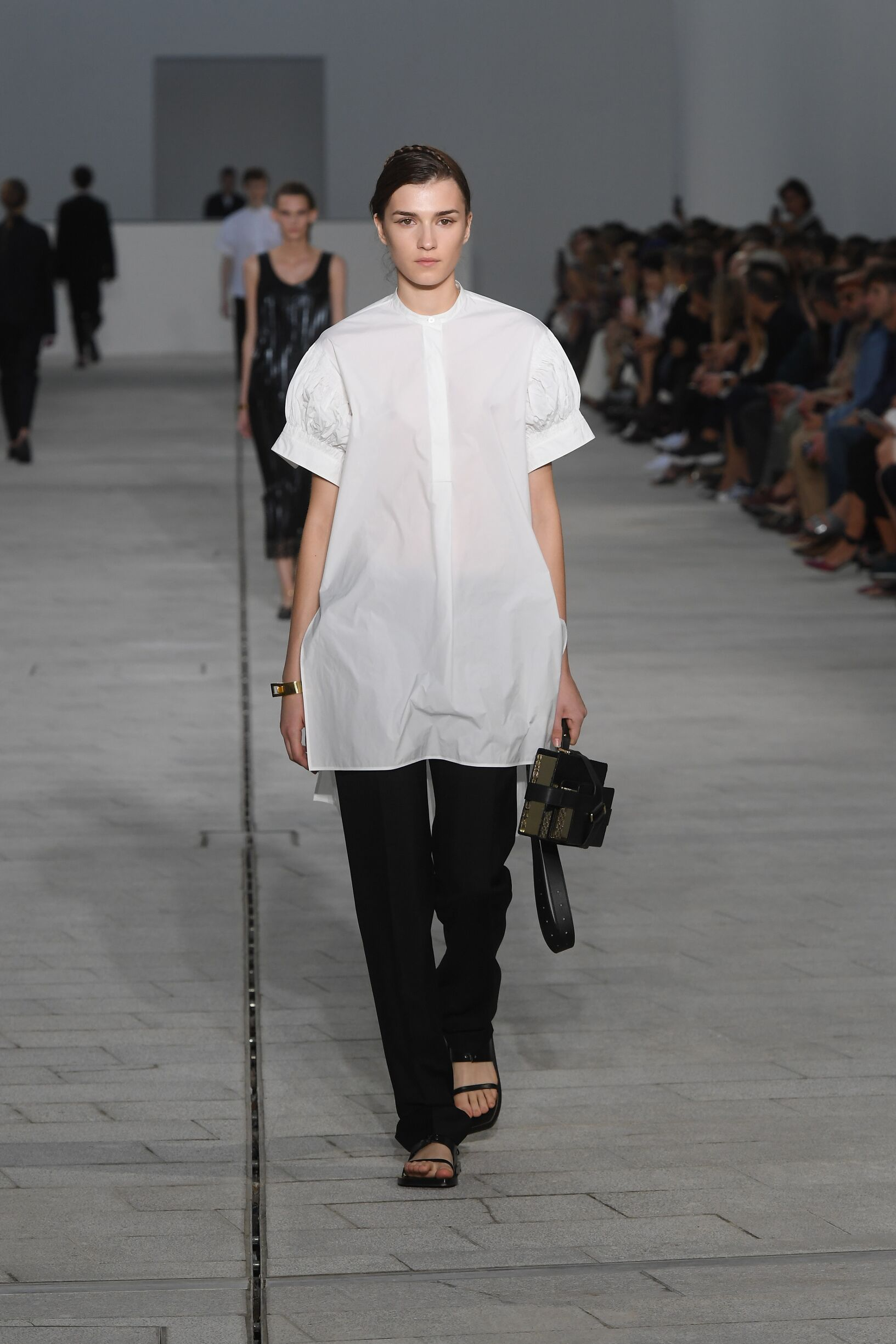 Runway Jil Sander Spring Summer 2018 Women's Collection Milan Fashion Week