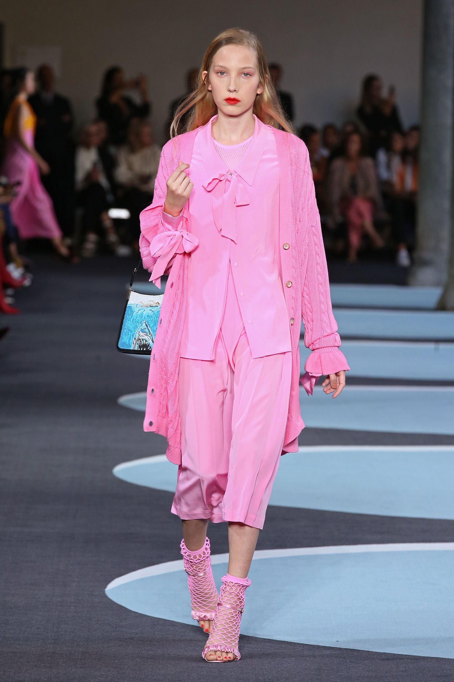 Runway Marco De Vincenzo Spring Summer 2018 Women's Collection Milan Fashion Week