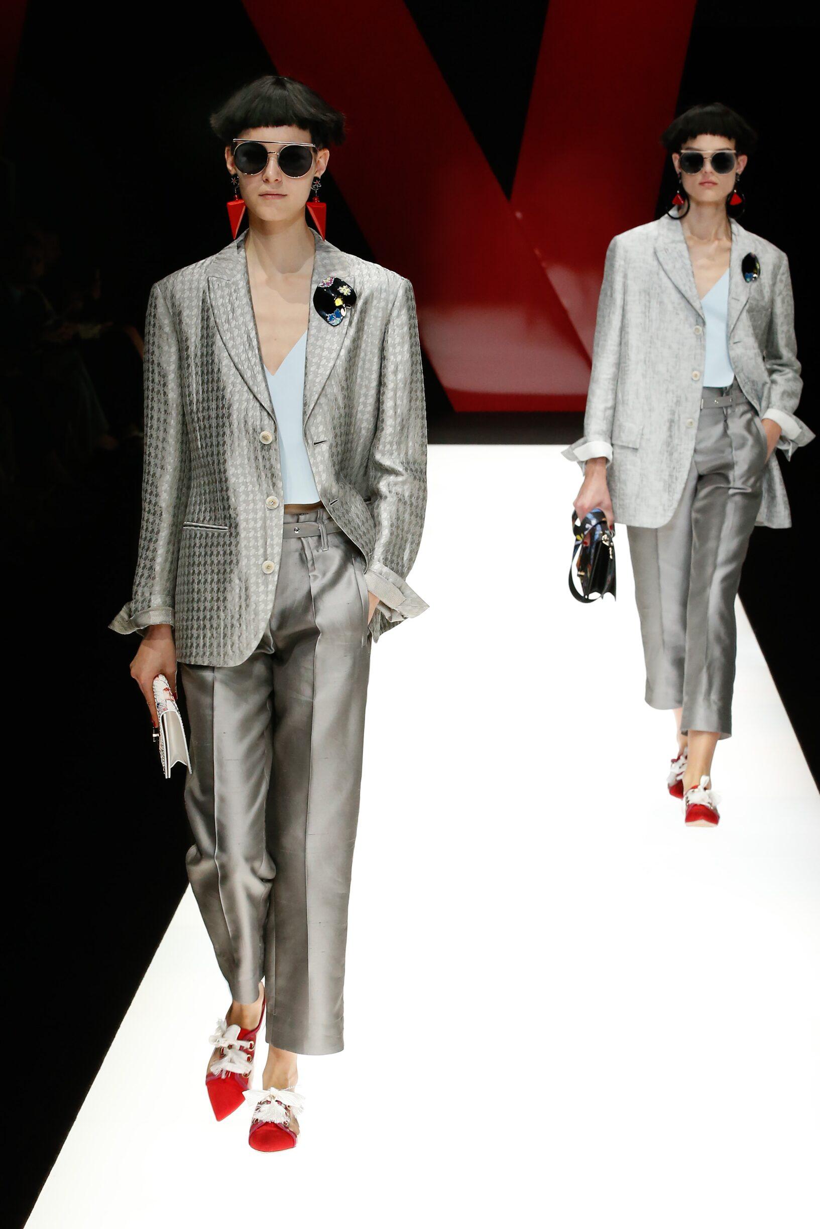 SS 2018 Fashion Show Giorgio Armani