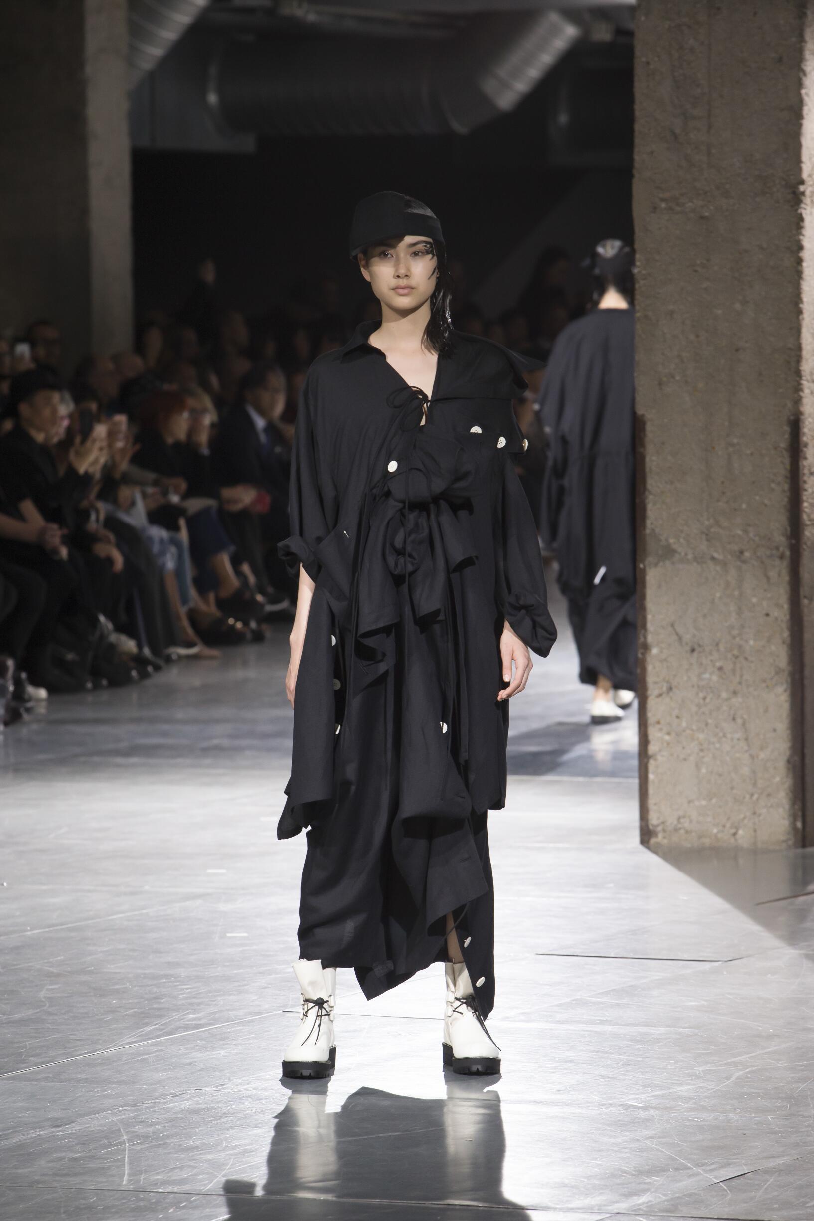 SS 2018 Fashion Show Yohji Yamamoto
