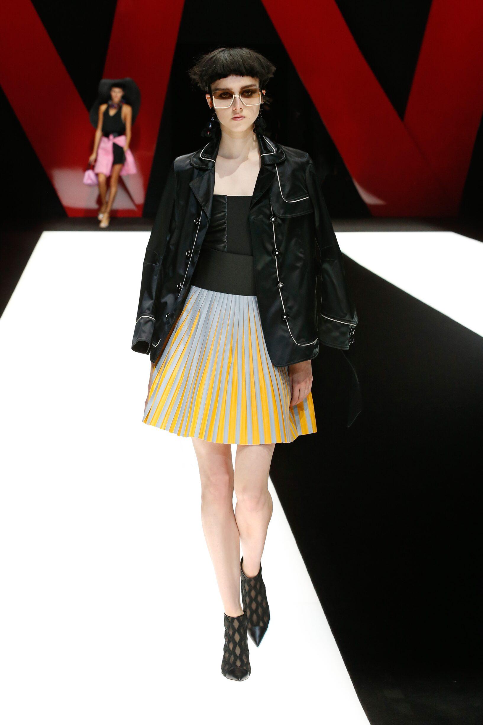 SS 2018 Giorgio Armani Fashion Show