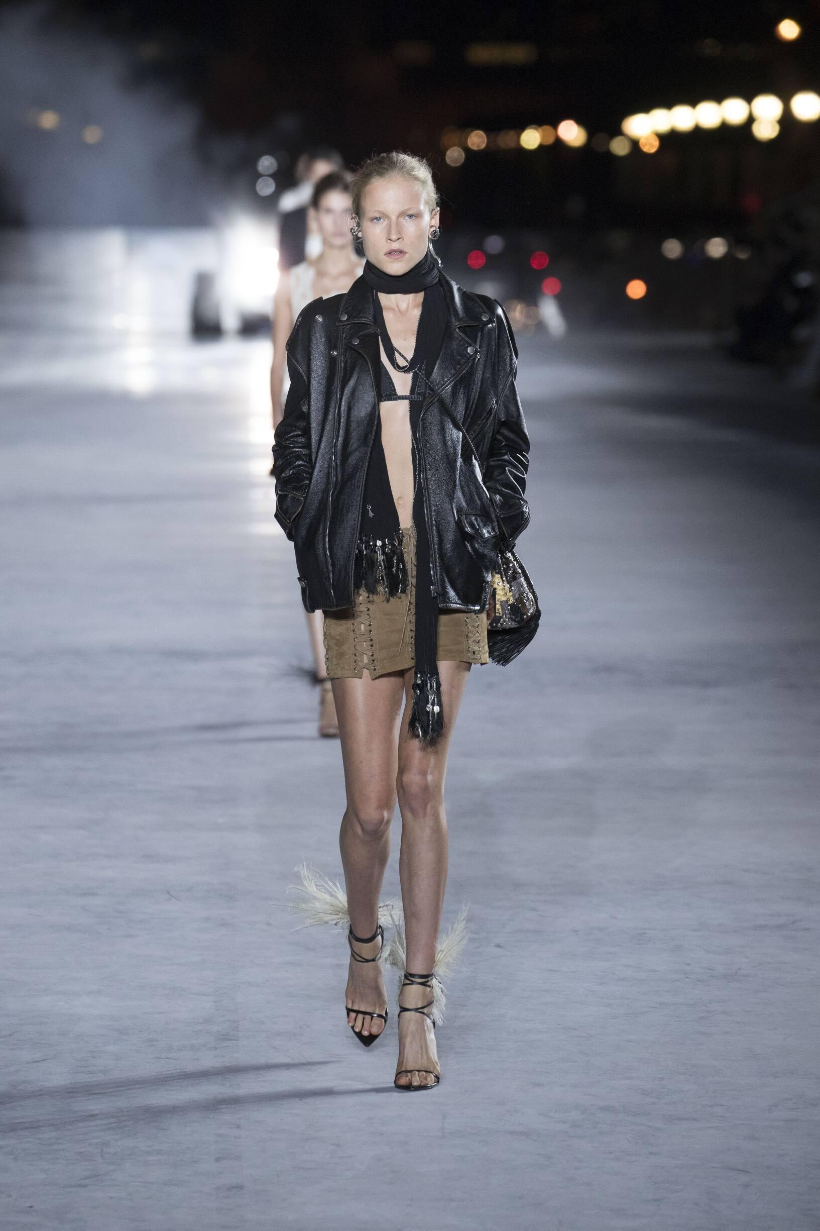 SS 2018 Saint Laurent Fashion Show Paris