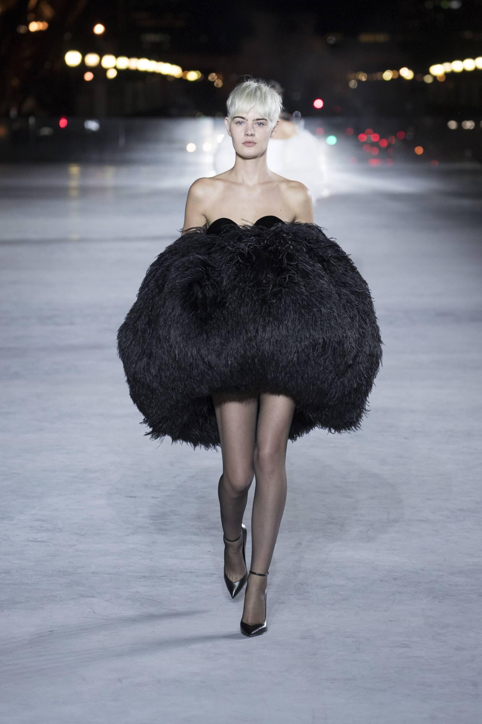 SS 2018 Saint Laurent Show Paris Fashion Week Womenswear