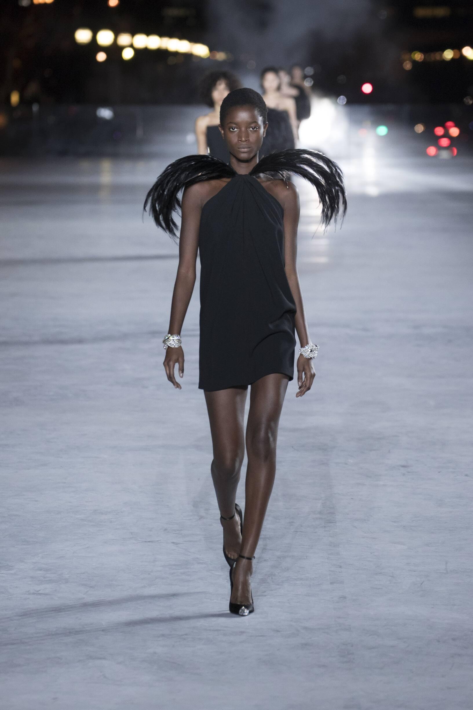 SS 2018 Saint Laurent Show Paris Fashion Week