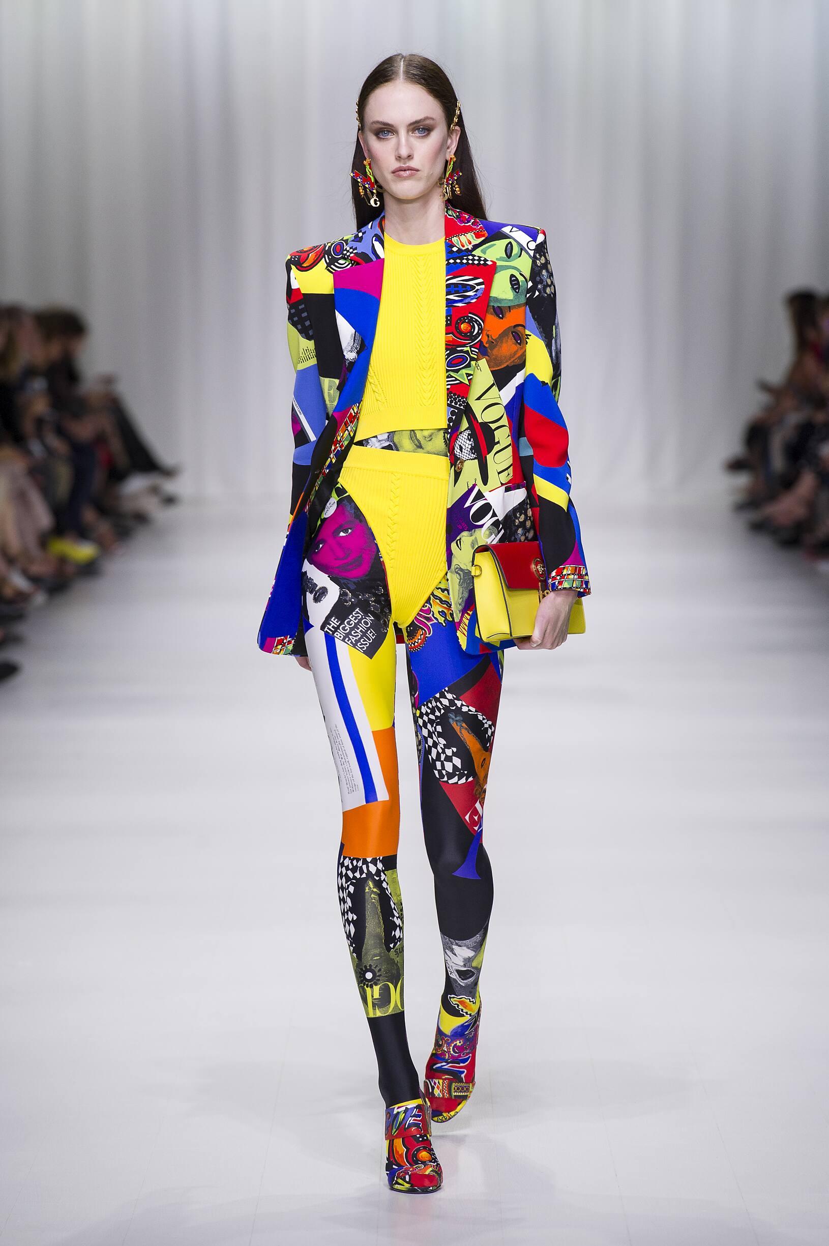SS 2018 Versace Fashion Show Milan Fashion Week