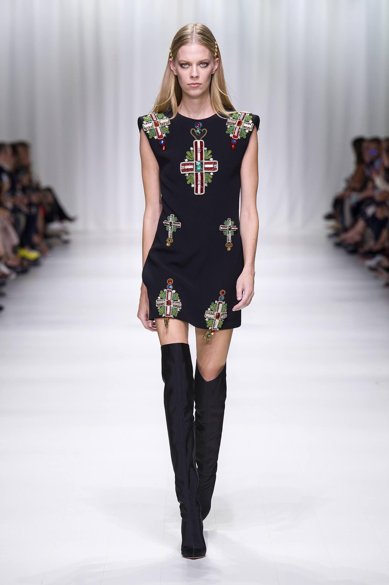 SS 2018 Versace Show Milan Fashion Week