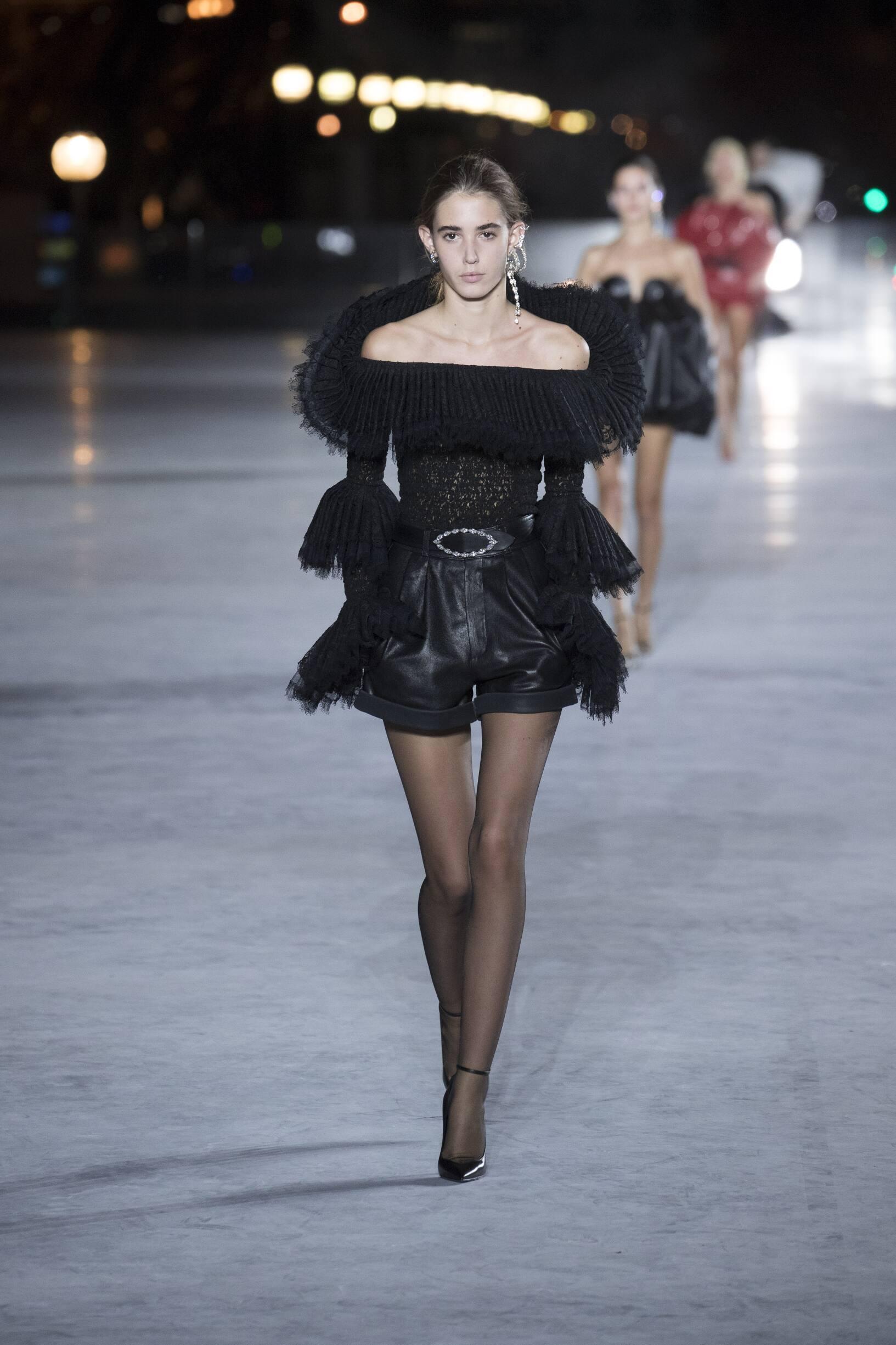 Saint Laurent 2018 Paris Trends Womenswear