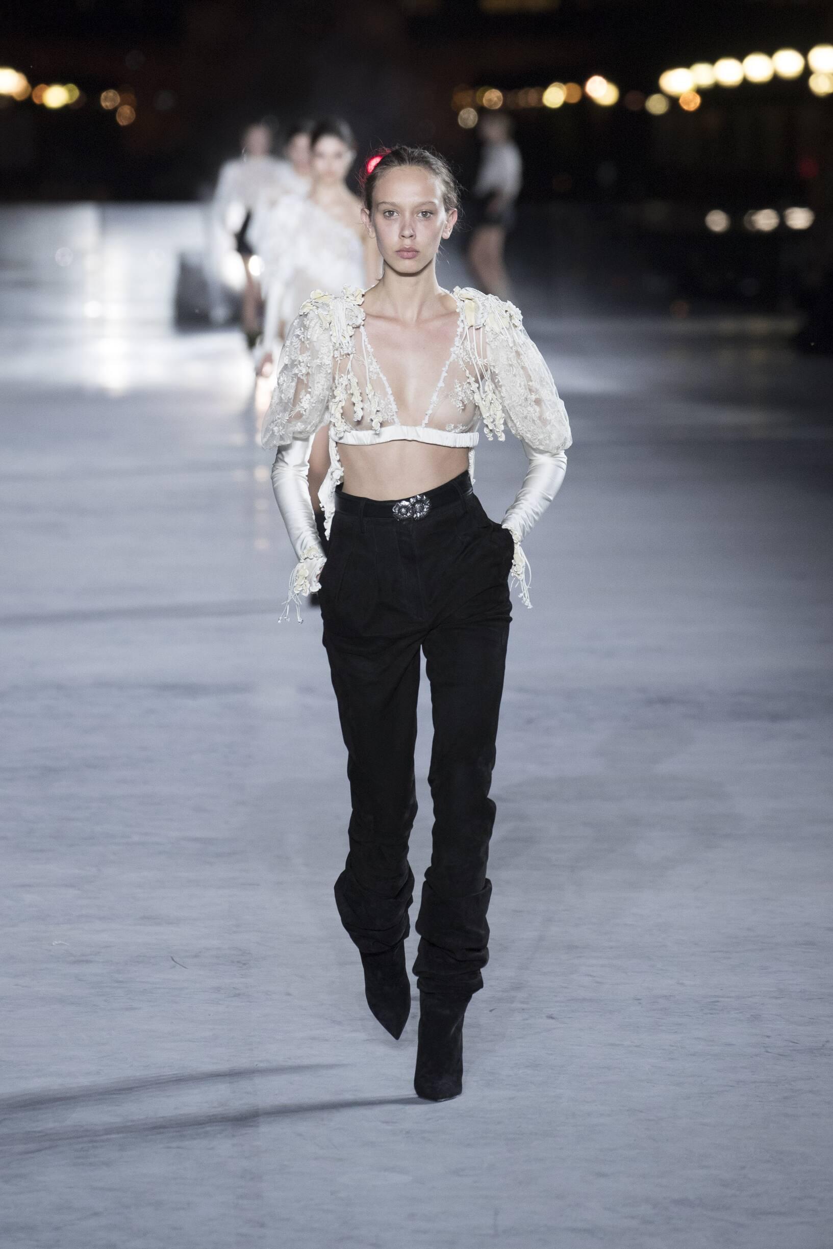 Saint Laurent 2018 Paris Women Trends