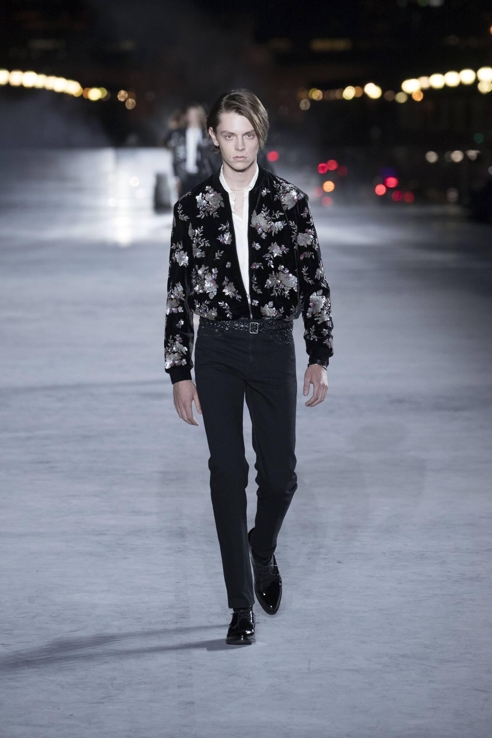 Saint Laurent Menswear Fashion Show