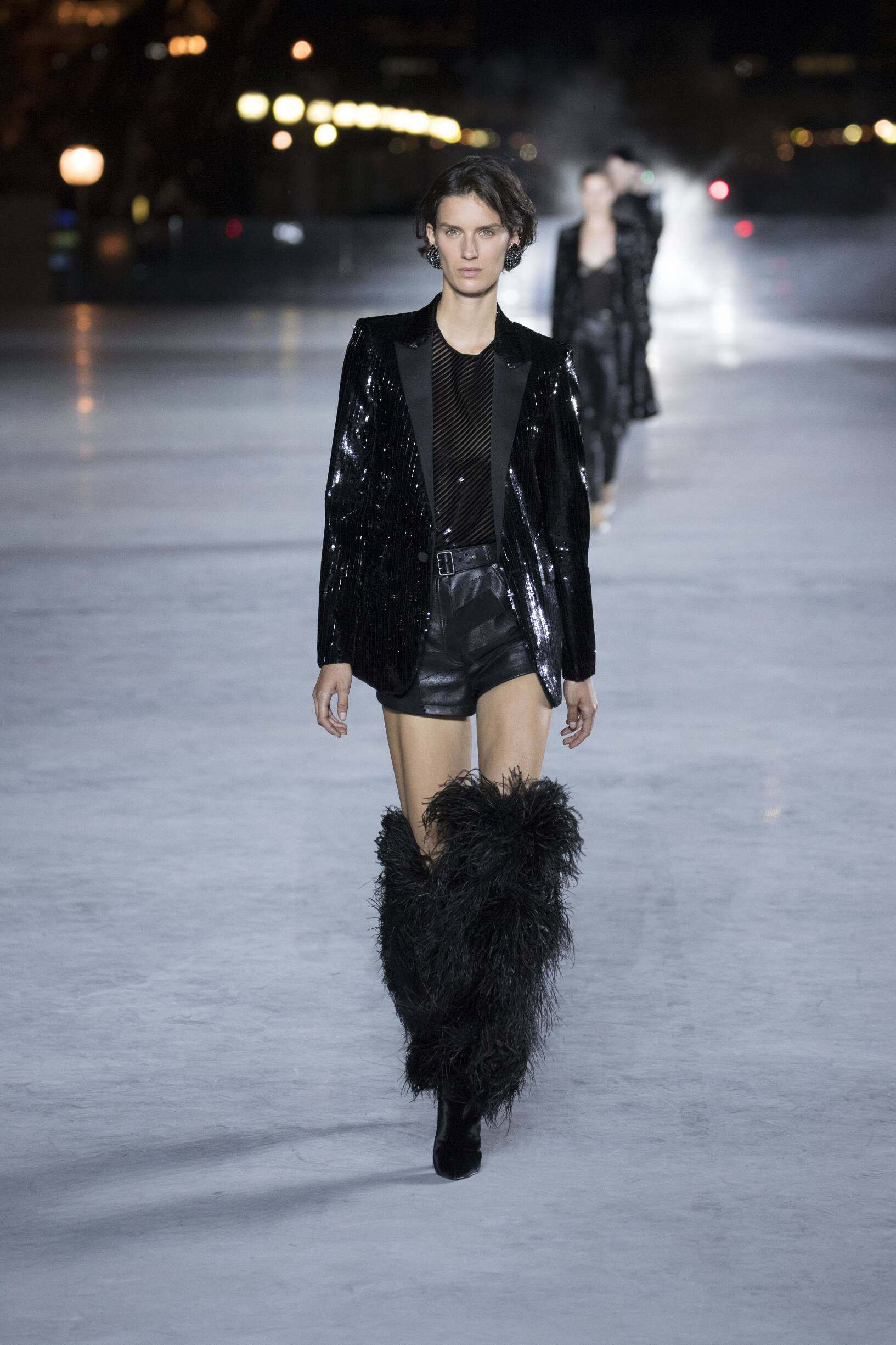 Saint Laurent Womenswear Collection Style