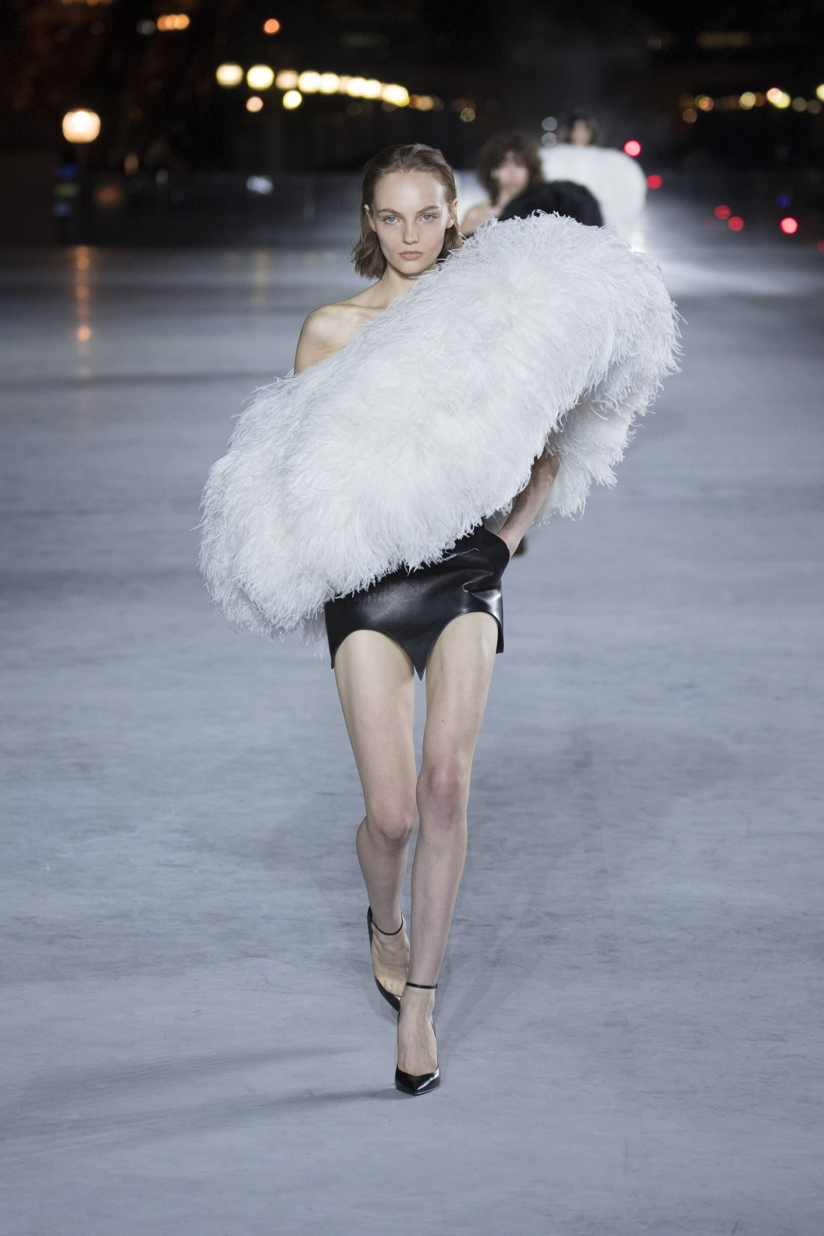 Saint Laurent Womenswear Collection Trends Summer