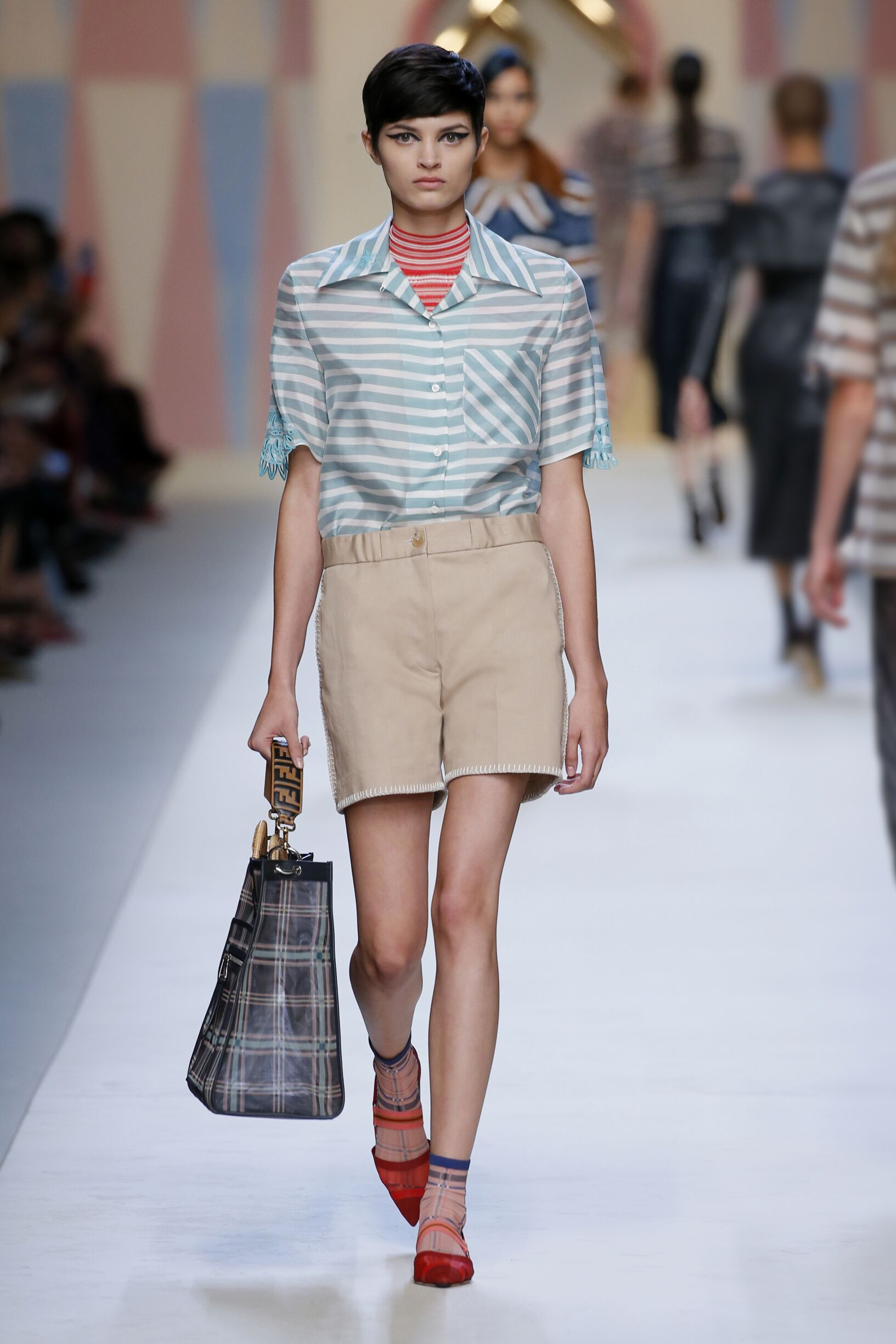 Spring 2018 Fashion Trends Fendi