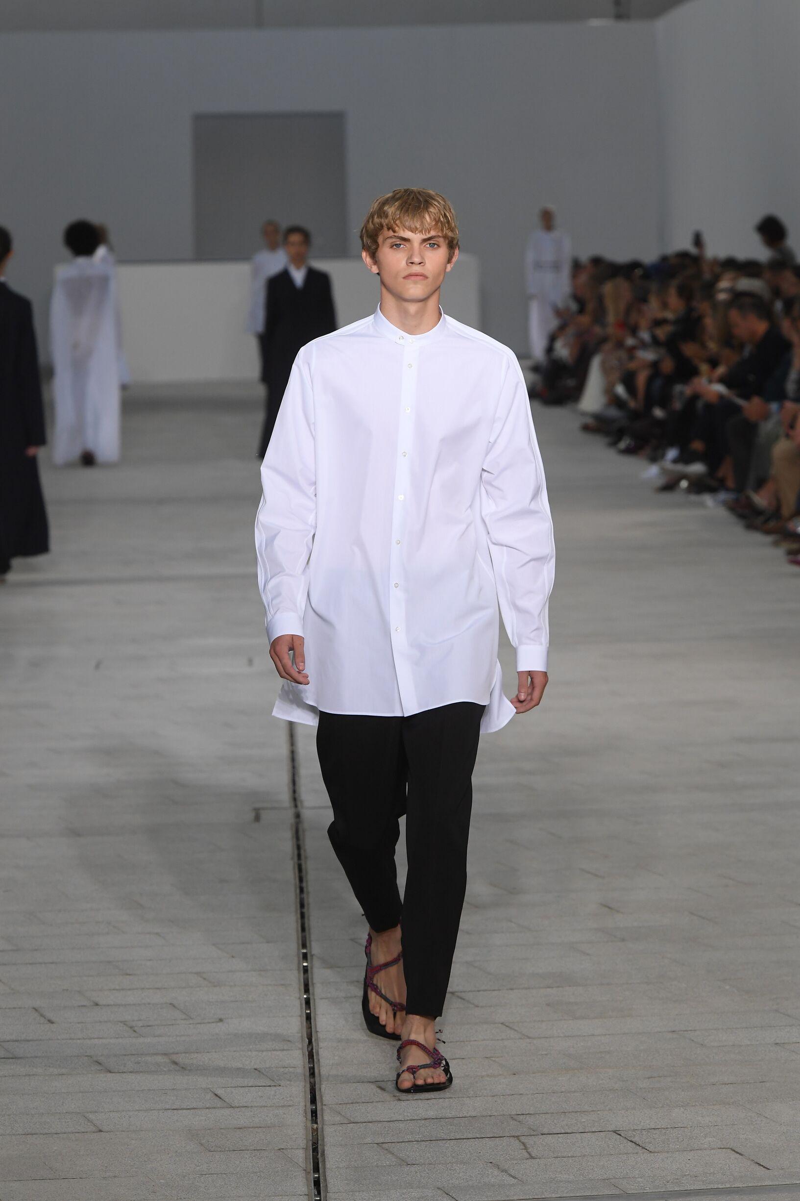 Spring 2018 Menswear Jil Sander