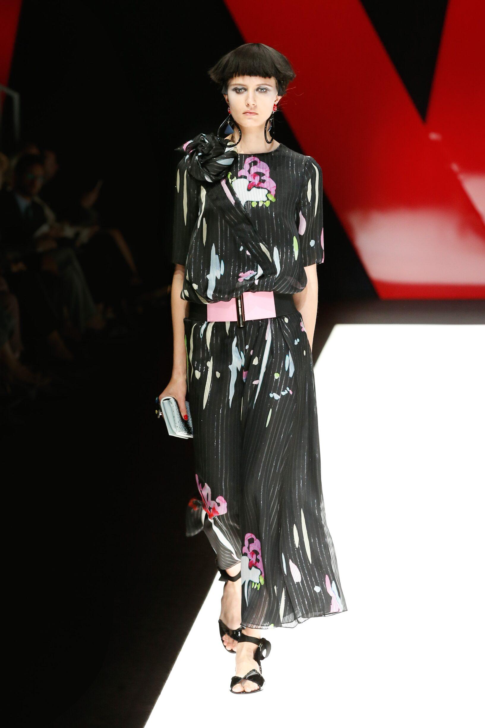 Spring 2018 Womenswear Giorgio Armani