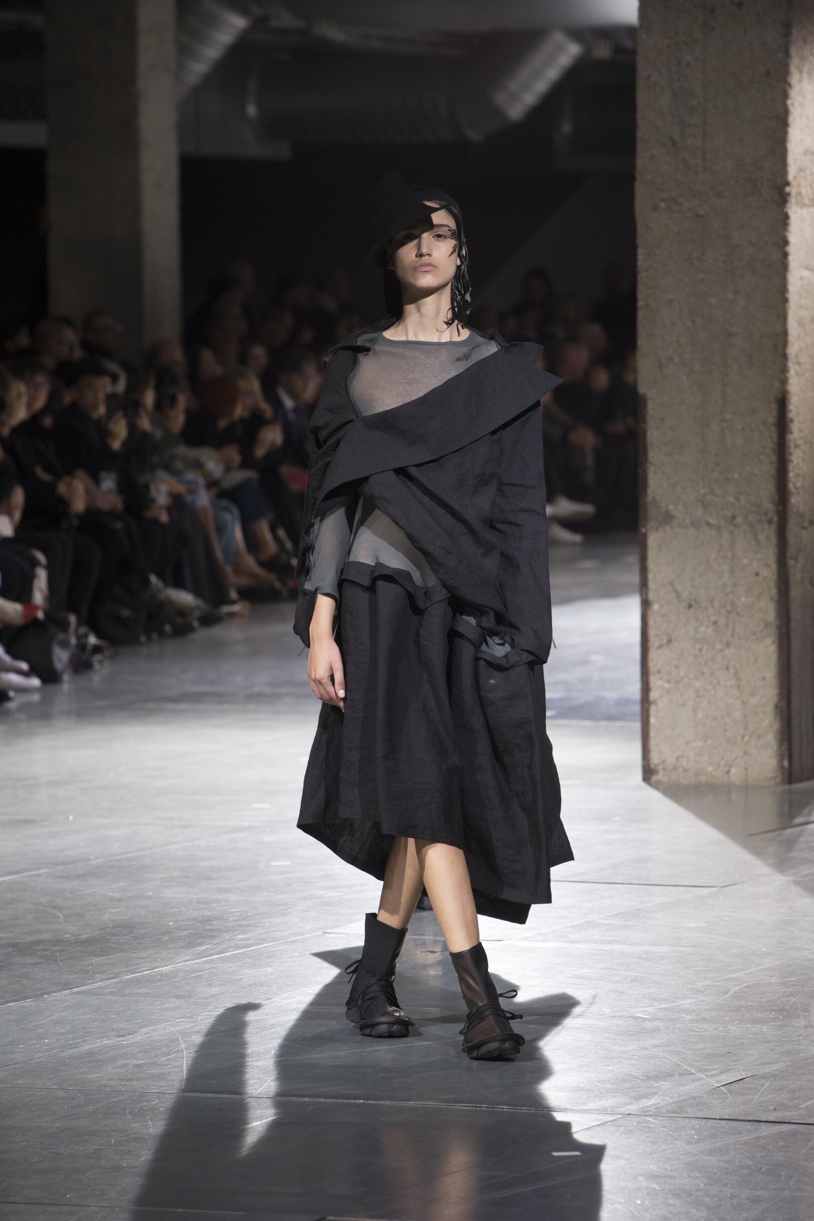 Spring Fashion 2018 Yohji Yamamoto