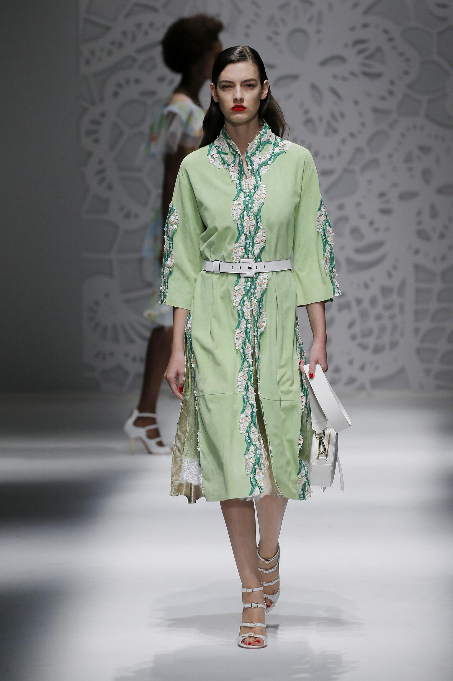 Spring Summer 2018 Woman Milan Blumarine Collection