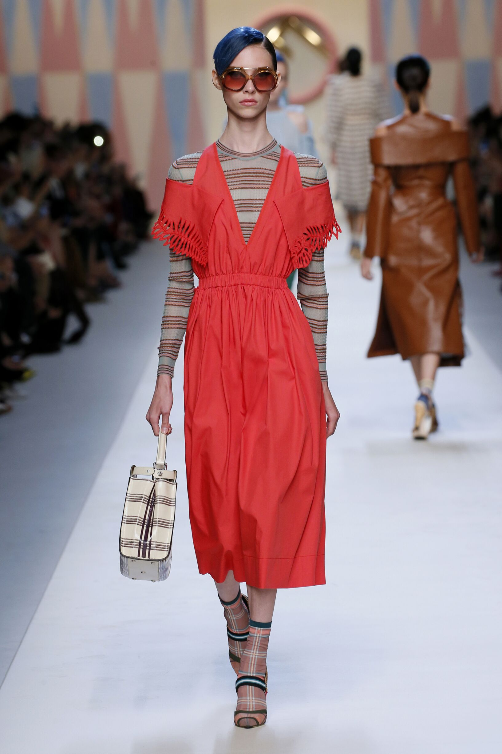 Spring Summer 2018 Woman Milan Fendi Collection