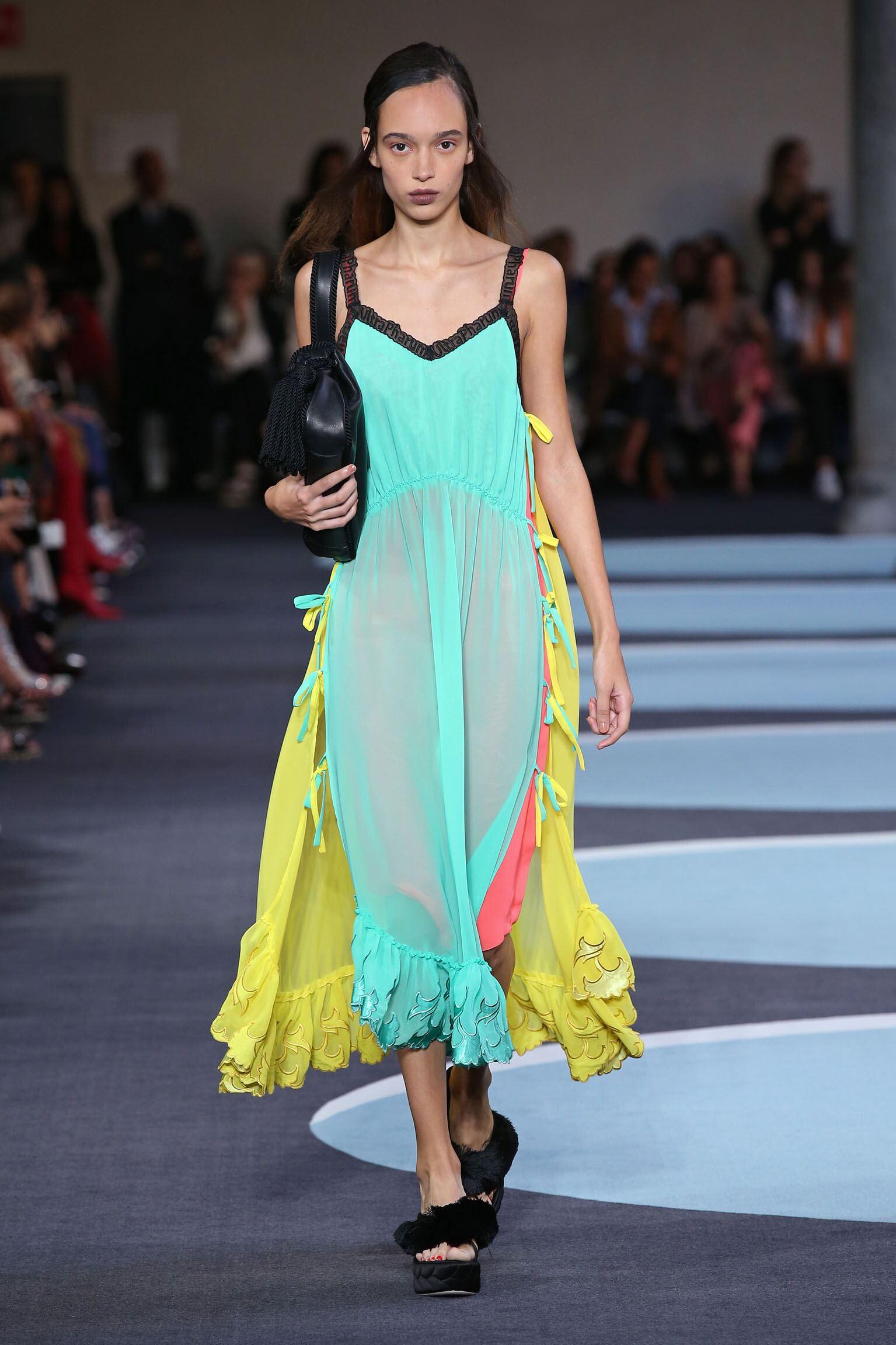Spring Summer 2018 Woman Milan Marco De Vincenzo Collection
