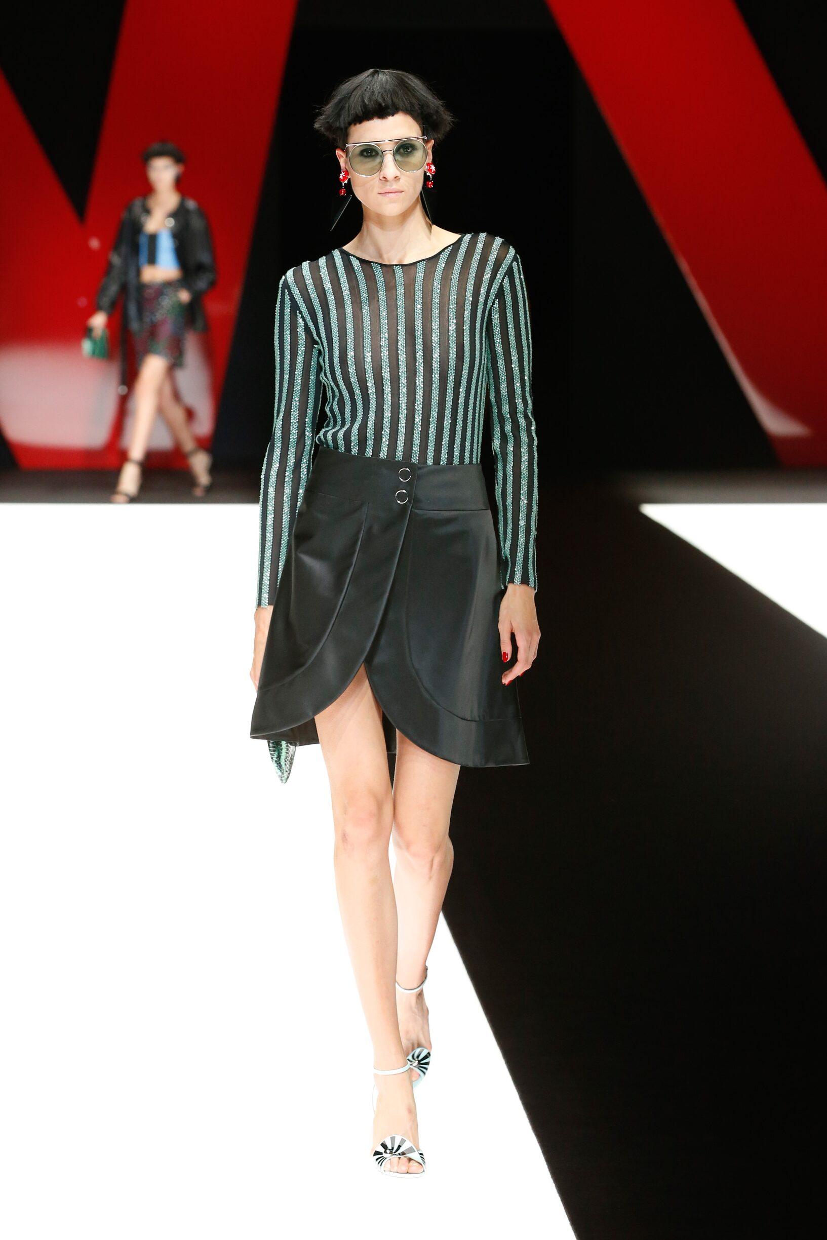 Summer 2018 Fashion Trends Giorgio Armani
