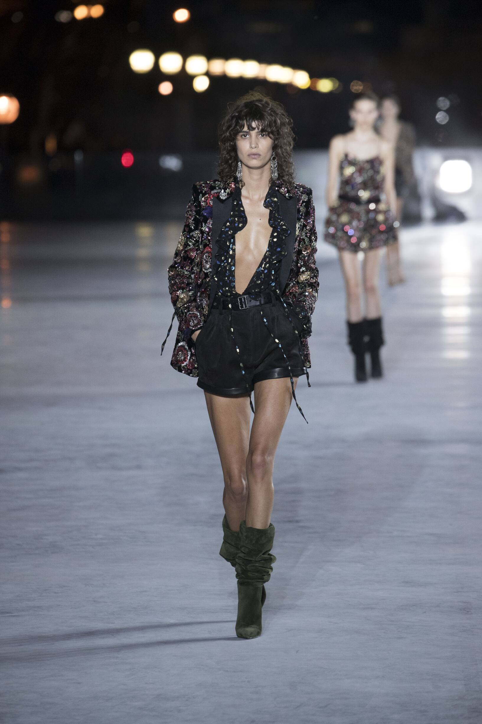 Summer 2018 Fashion Trends Saint Laurent