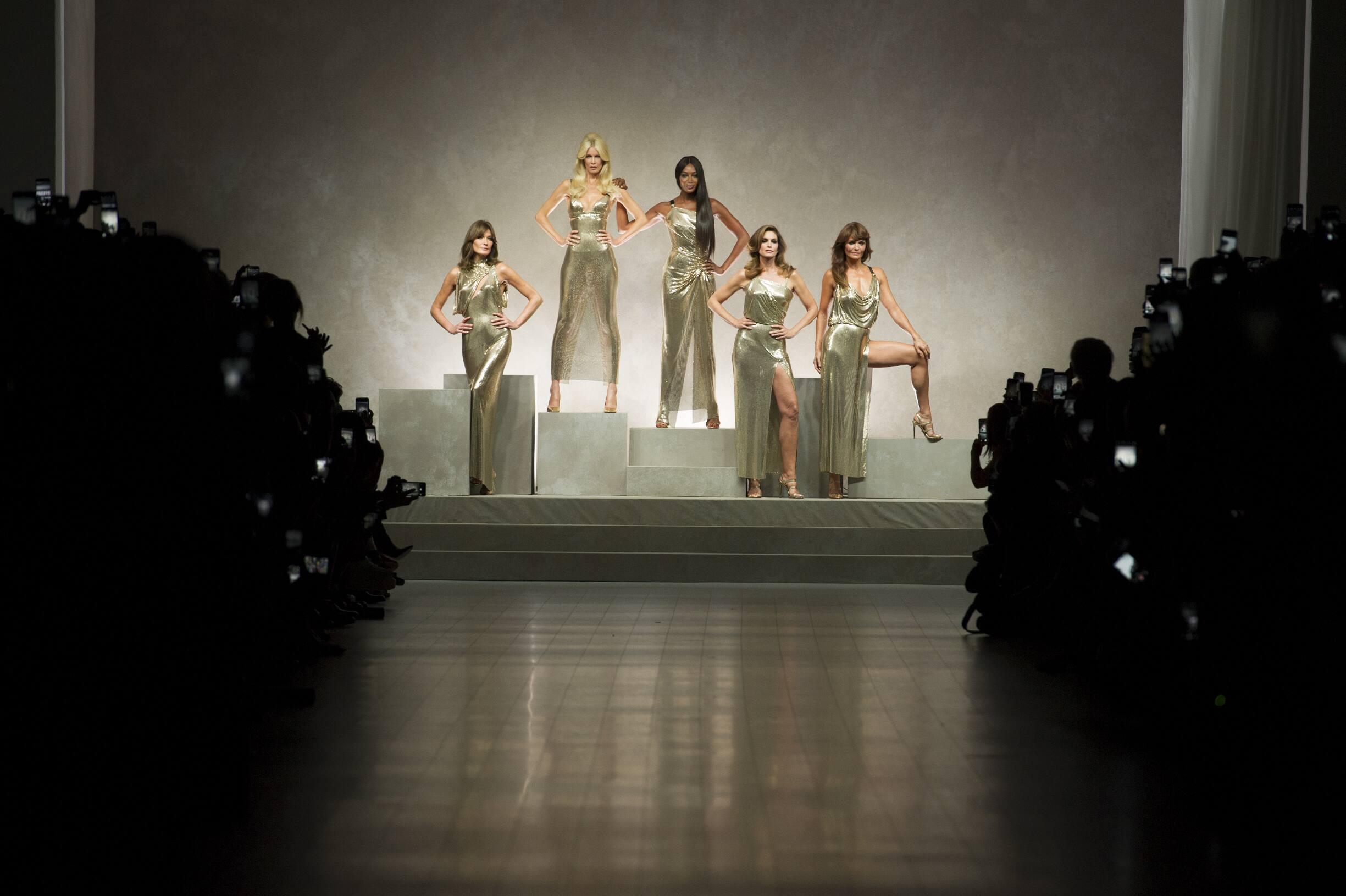 Top Models Versace