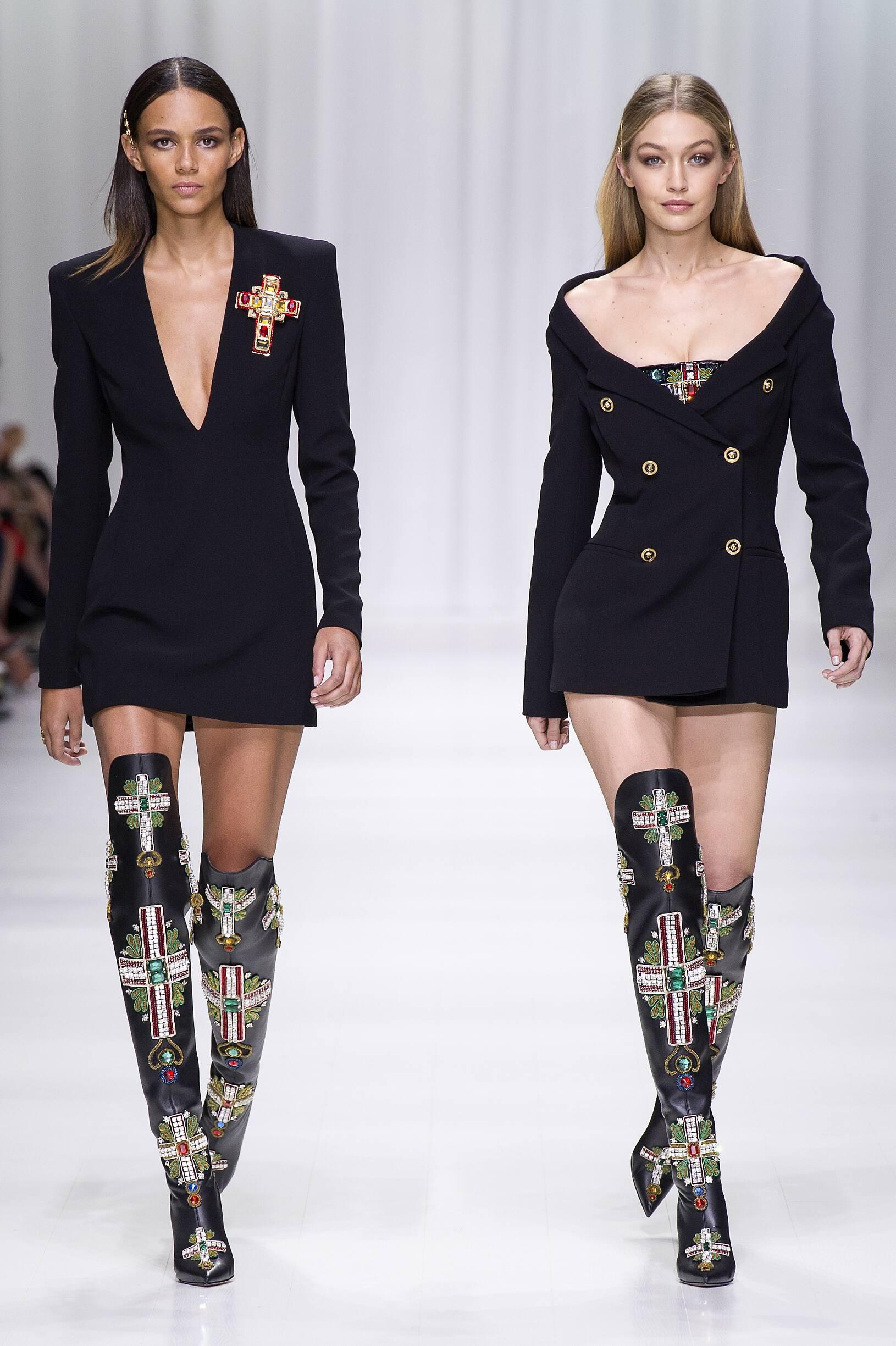 Versace 2018 Milan Trends Womenswear