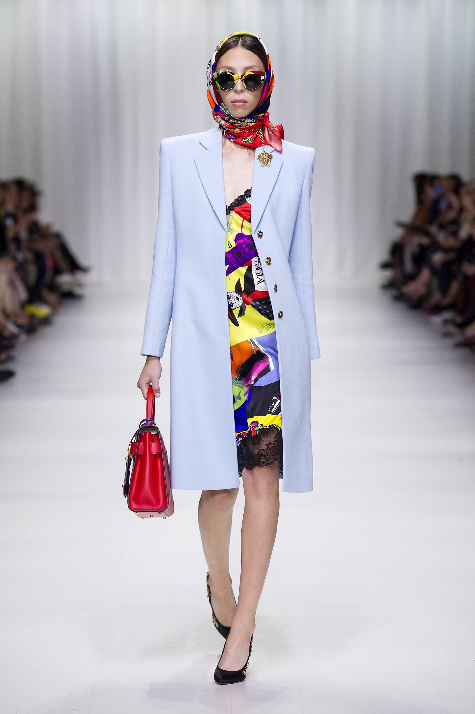 Versace 2018 Milan Women Trends