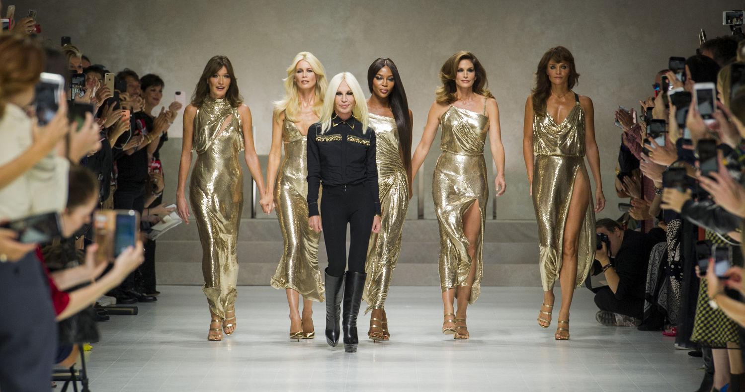 Versace Fashion Show SS 2018 Milan