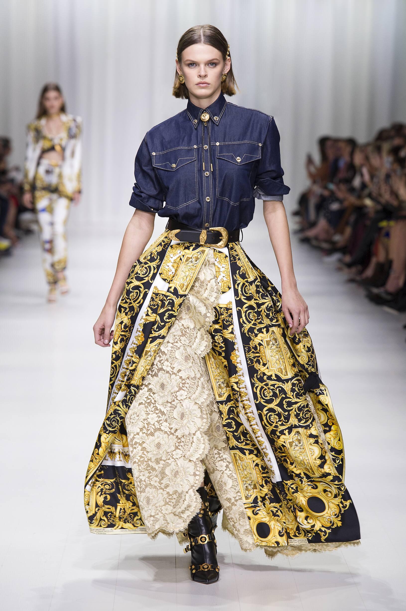 Versace SS 2018 Womenswear