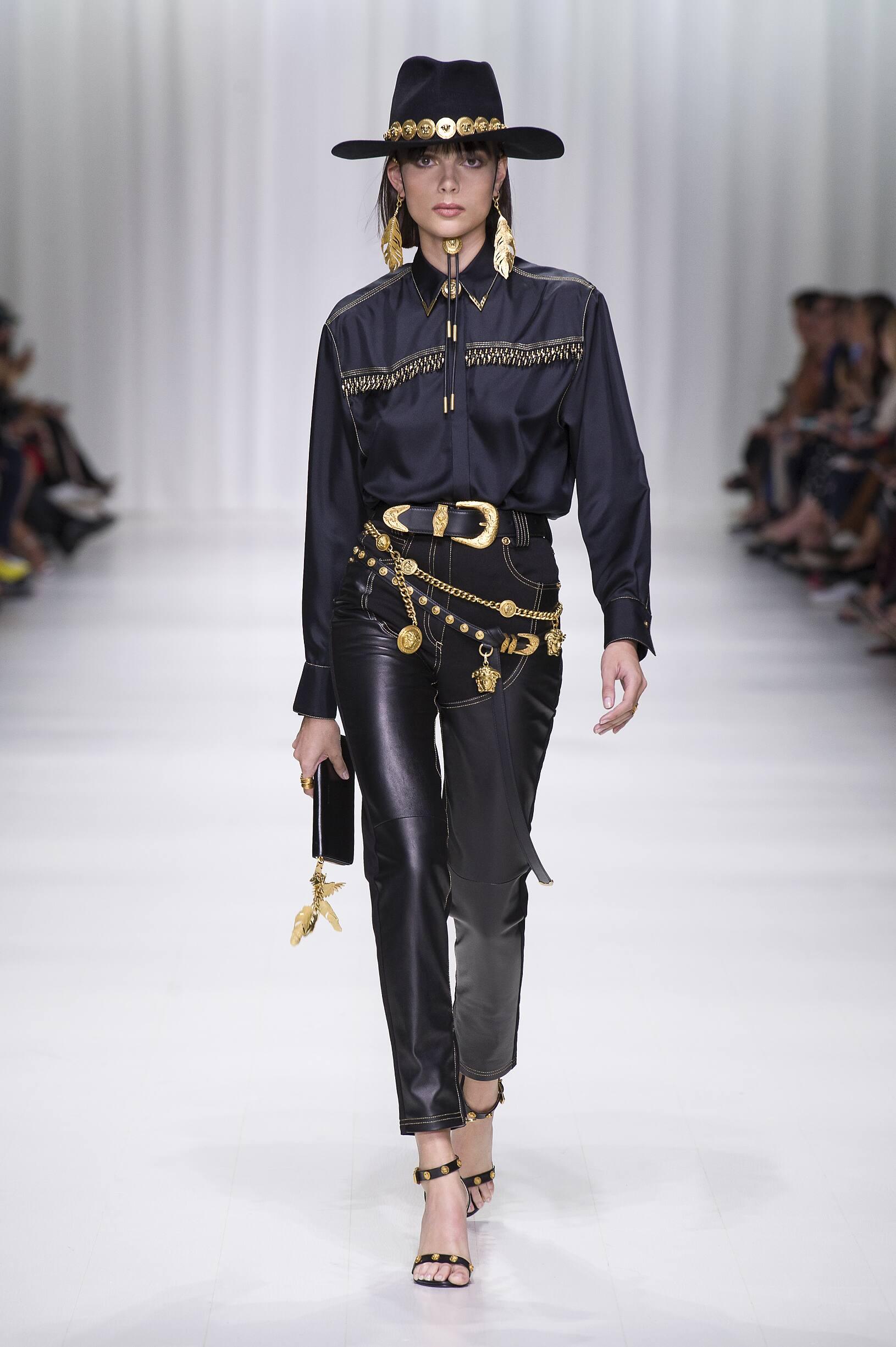 Versace Summer 2018 Catwalk