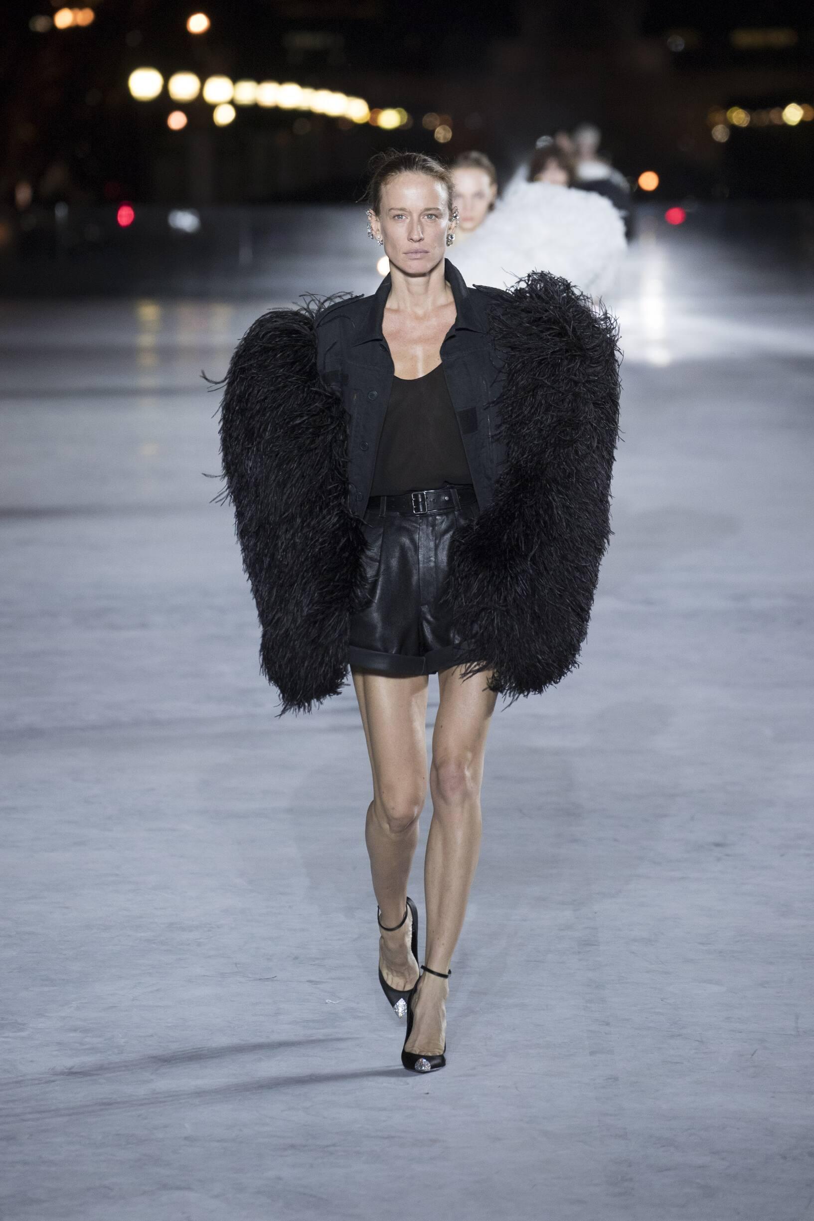 Womenswear Fashion 2018 Catwalk Saint Laurent