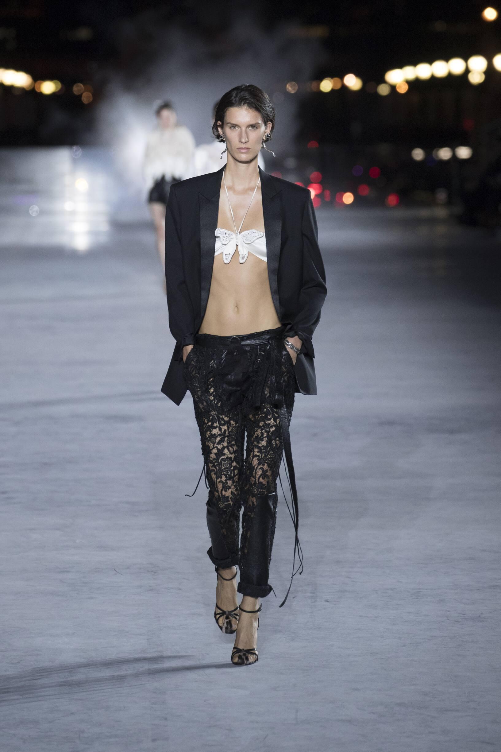Womenswear SS Saint Laurent 2018