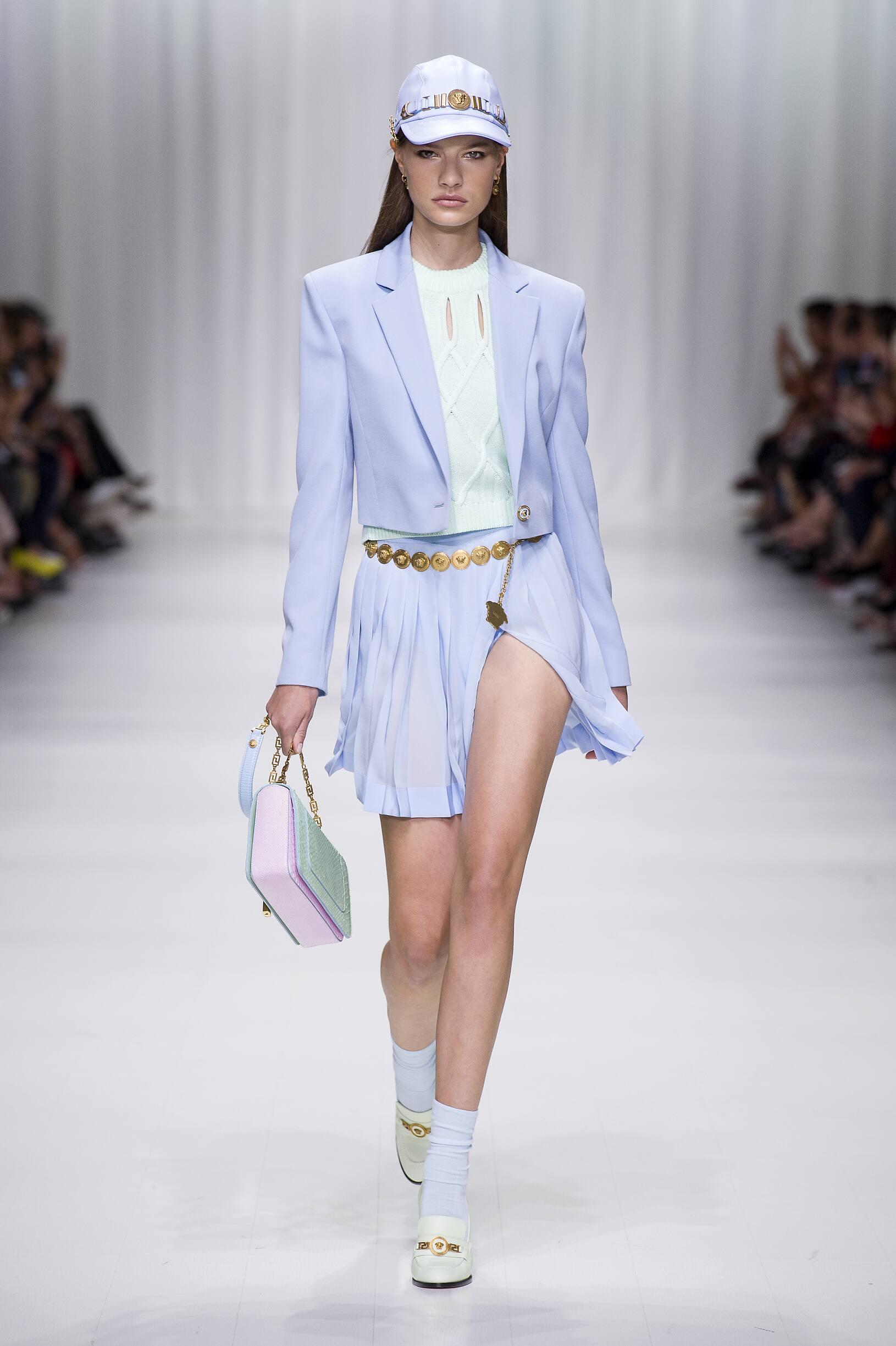 Womenswear SS Versace 2018