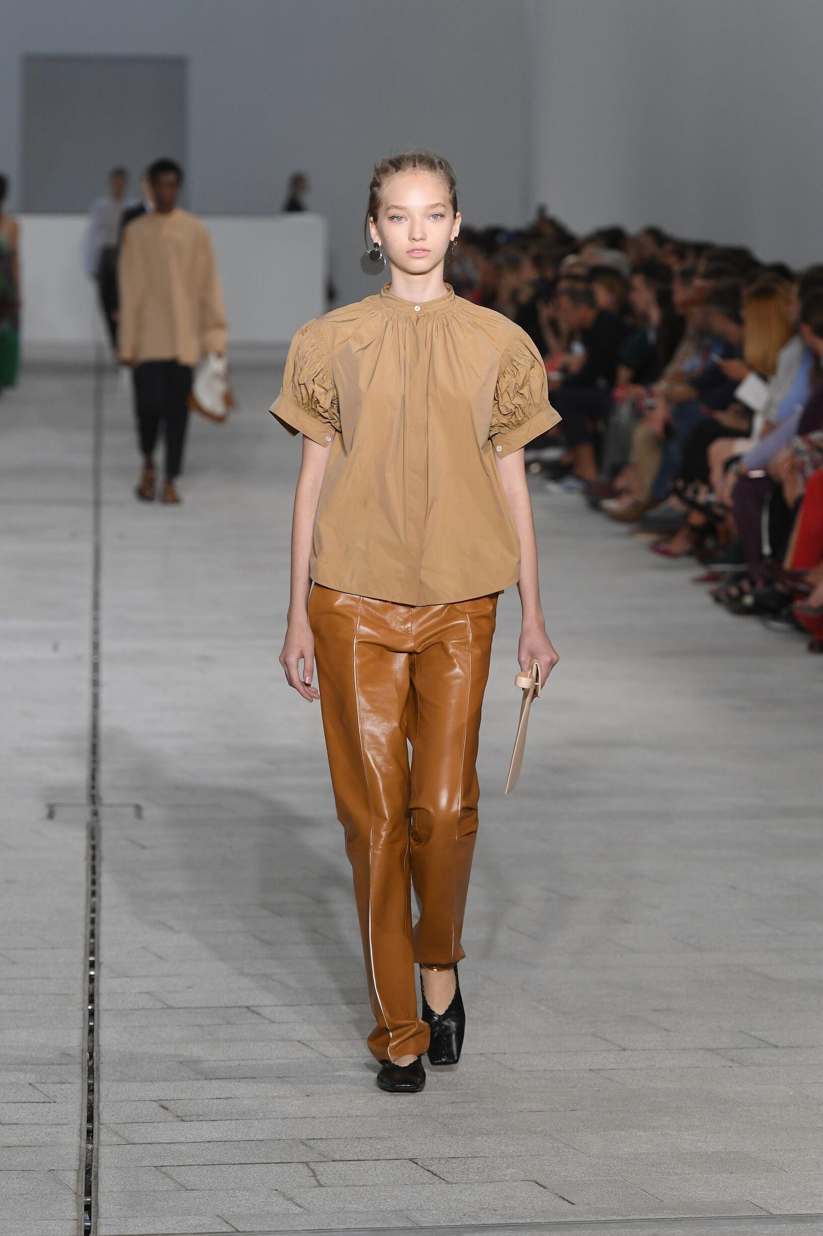 Womenswear Spring Summer Jil Sander 2018 Trends