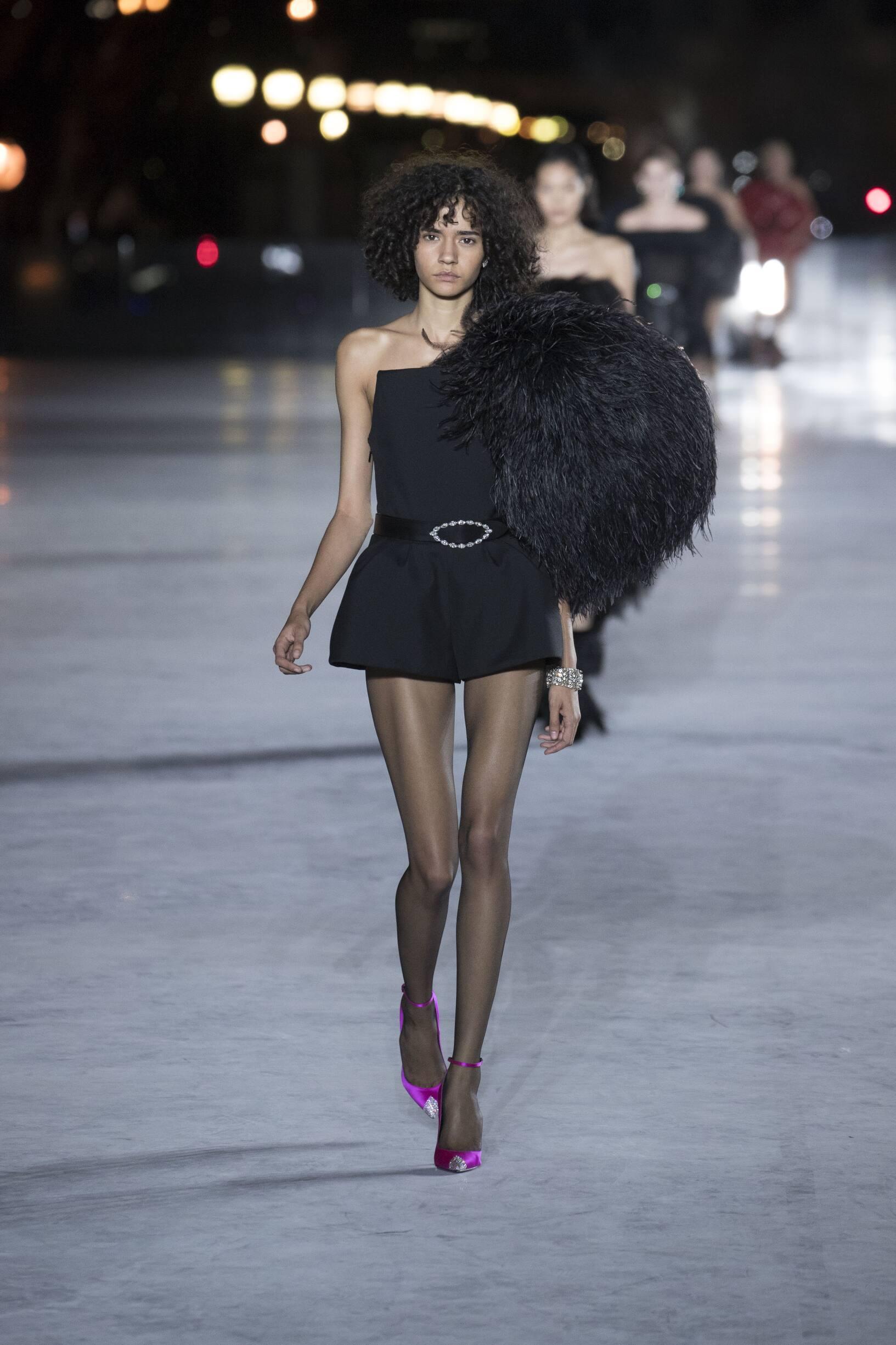 Womenswear Spring Summer Saint Laurent 2018