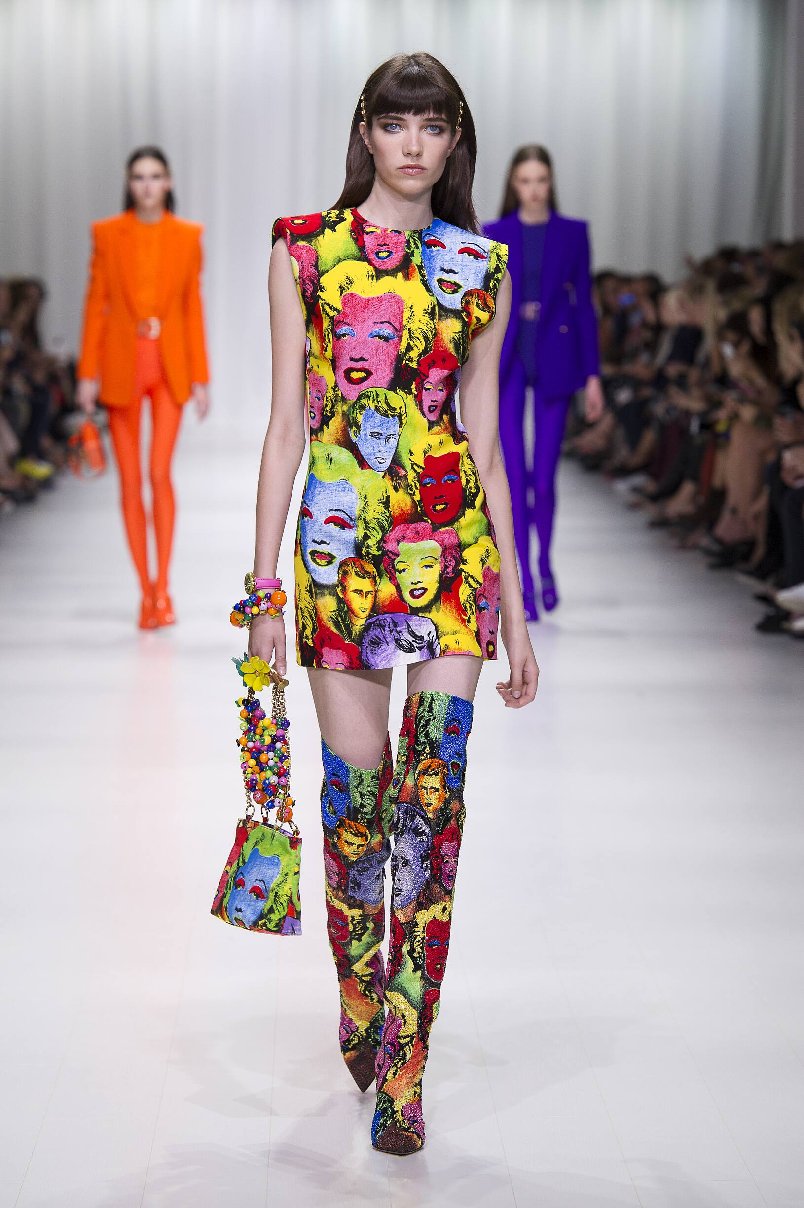 Womenswear Spring Summer Versace 2018 Trends