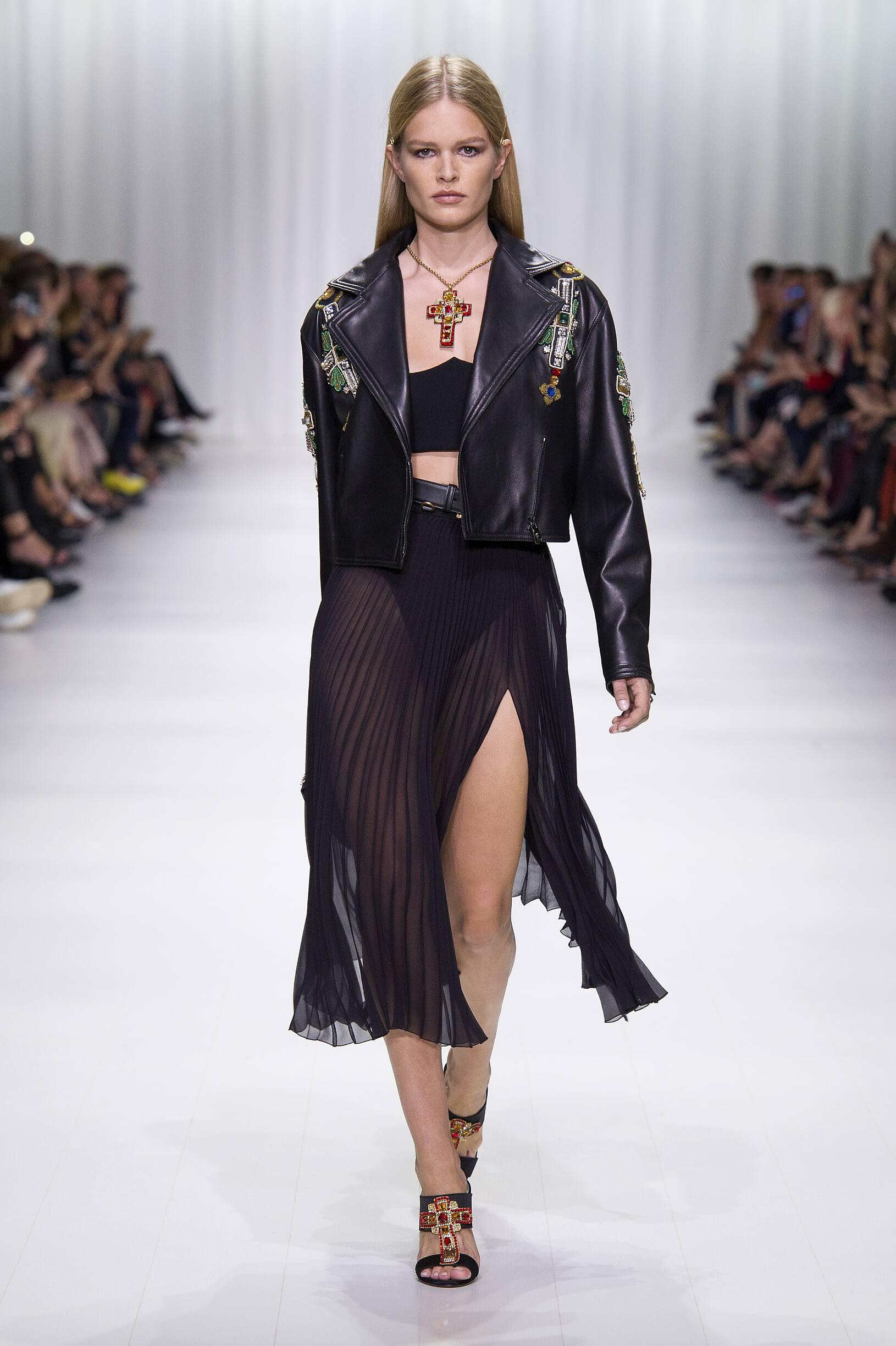 Womenswear Spring Summer Versace 2018