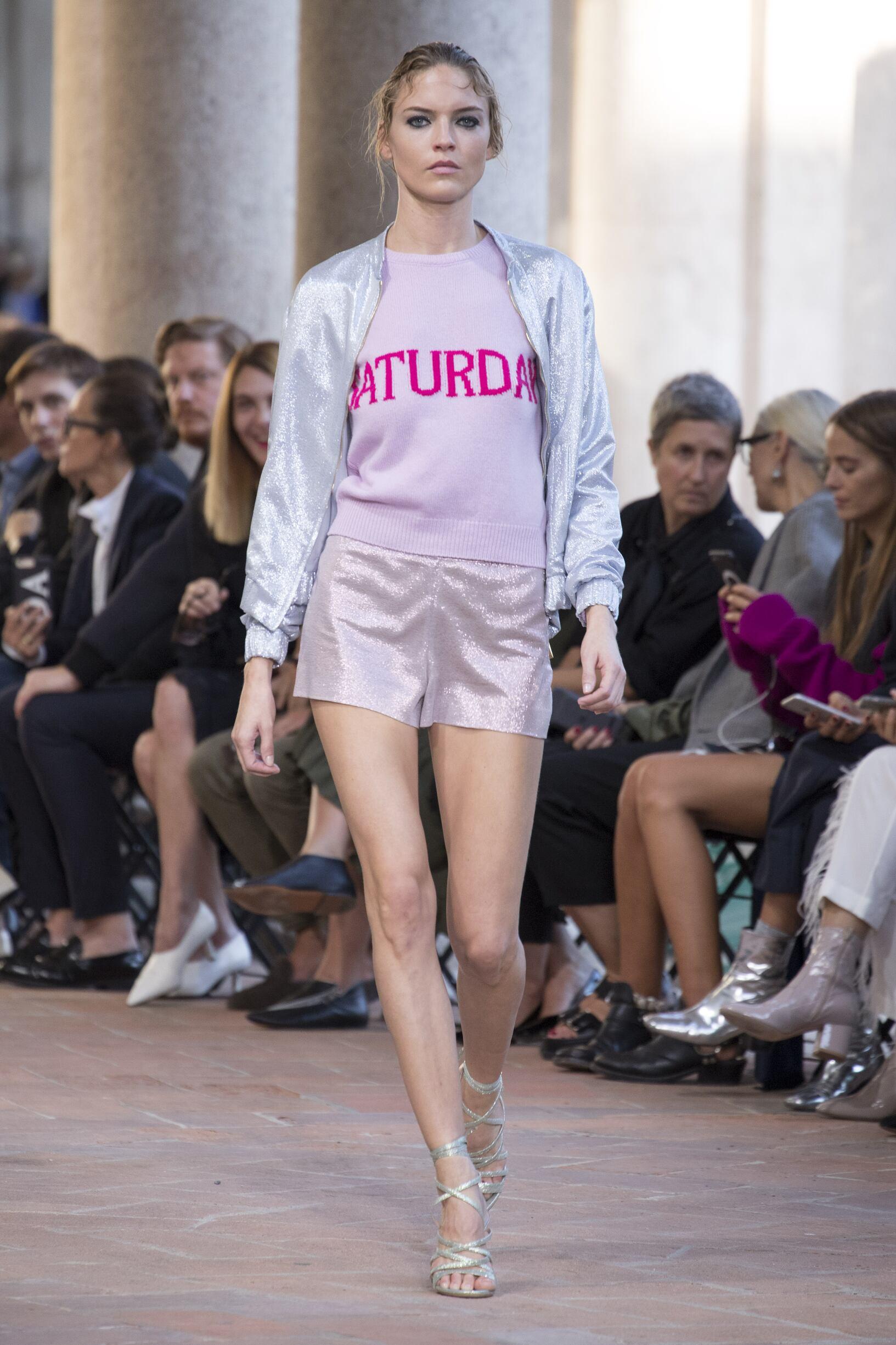 Womenswear Summer Alberta Ferretti 2018