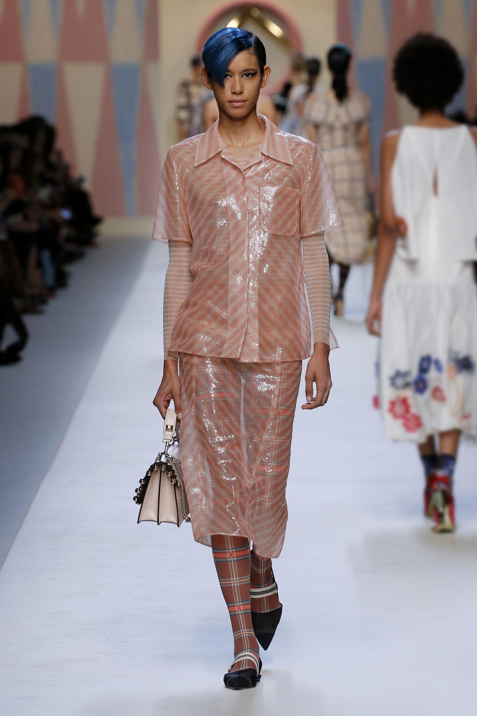Womenswear Summer Fendi 2018