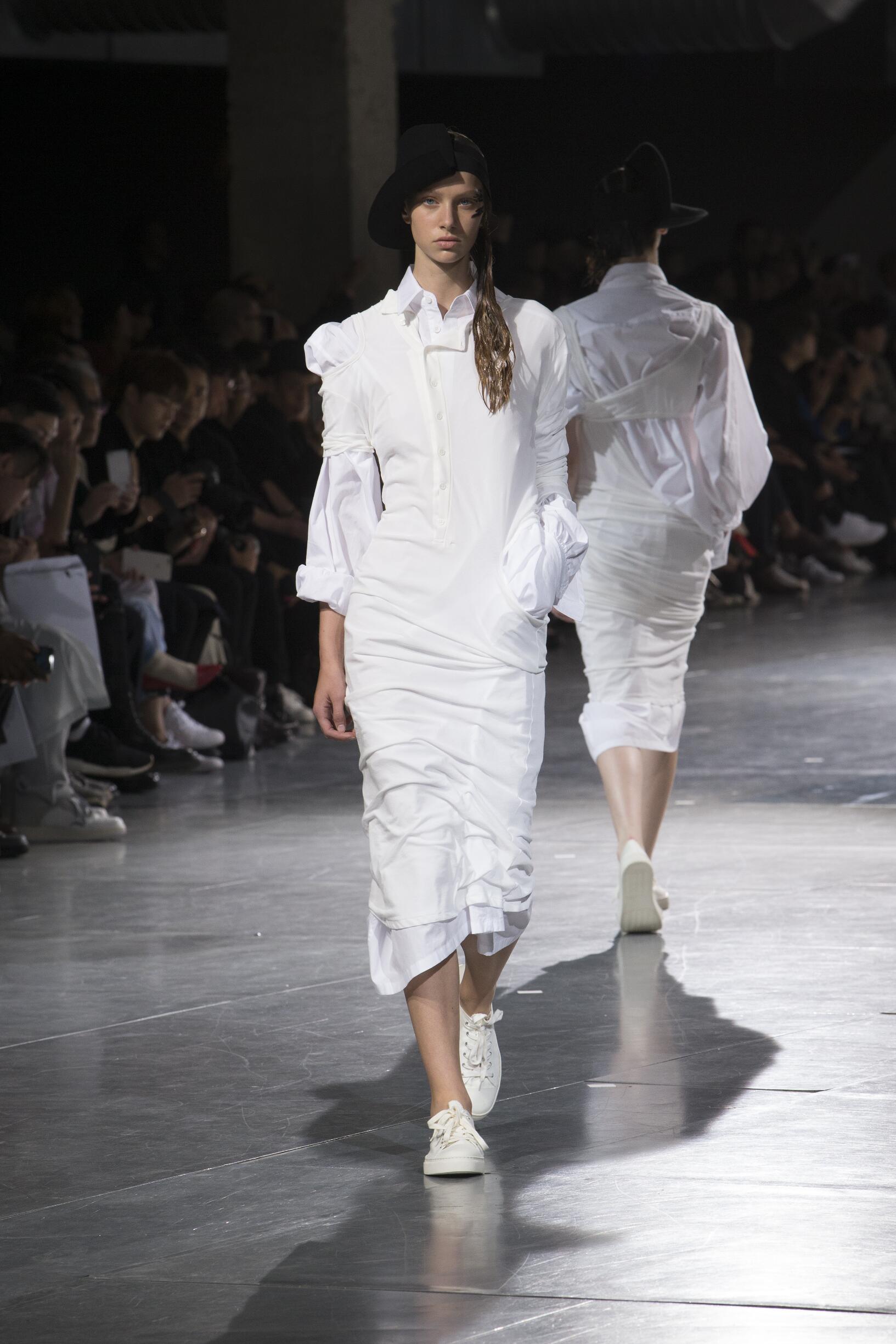 Yohji Yamamoto Spring Summer 2018