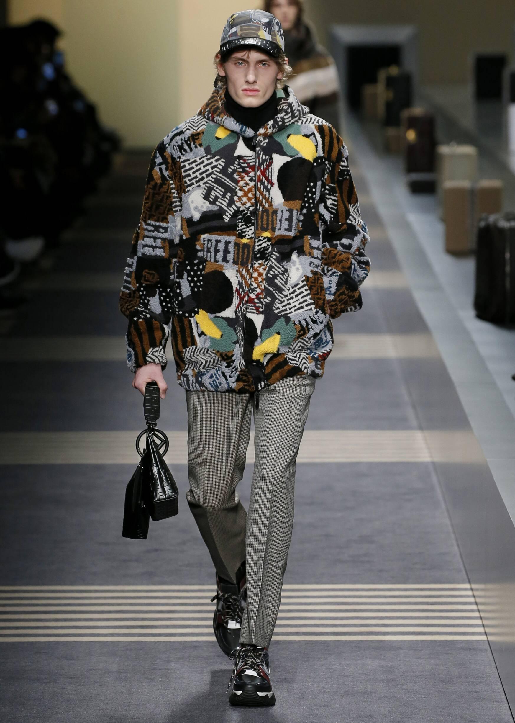2018-2019 Man Style Fendi