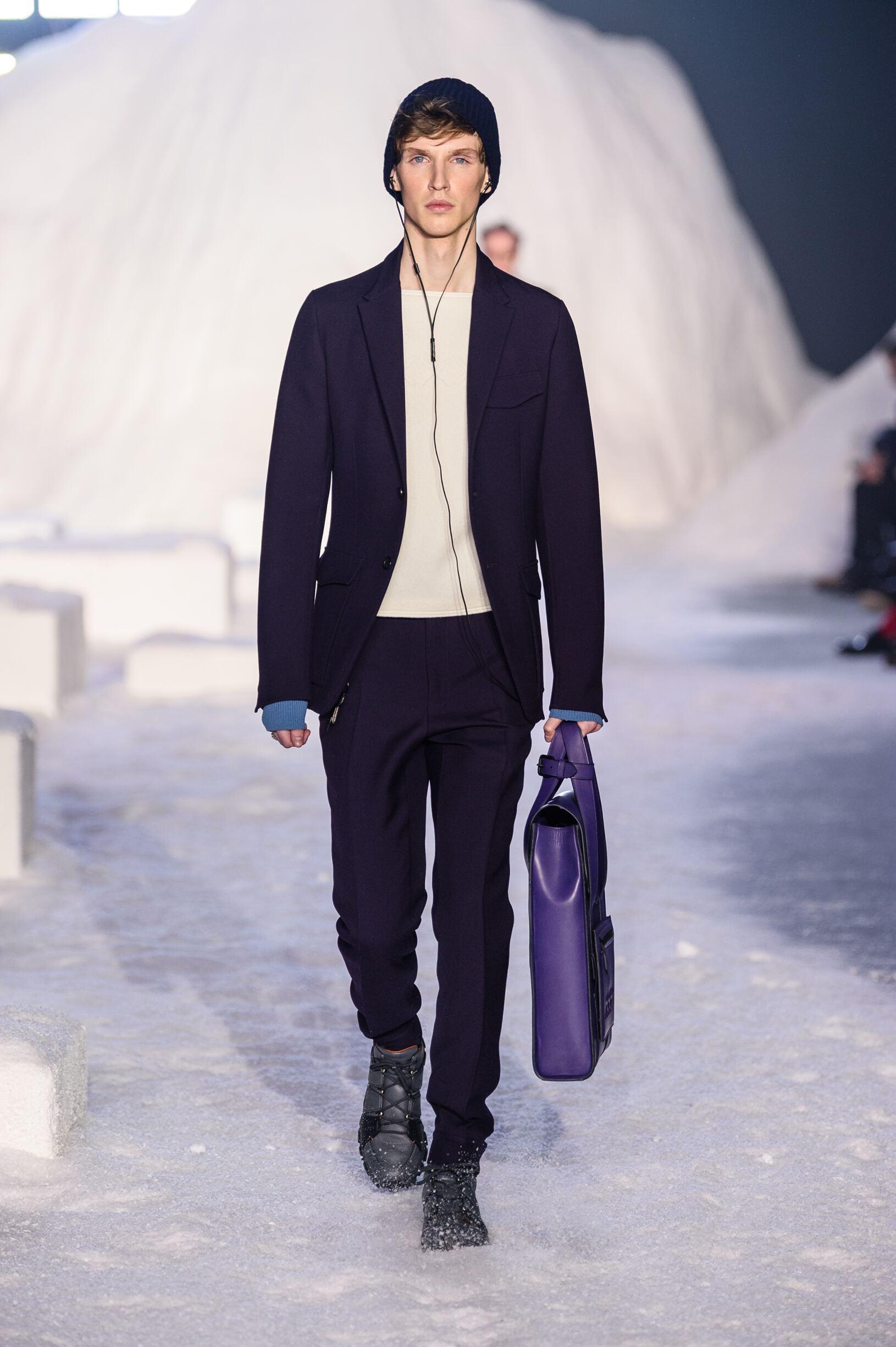 2018 Catwalk Ermenegildo Zegna Couture Man Fashion Show Winter