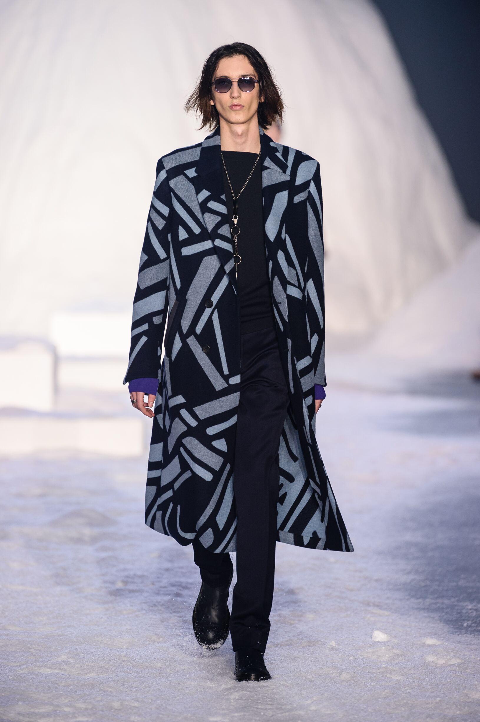 2018 Catwalk Ermenegildo Zegna Couture Winter