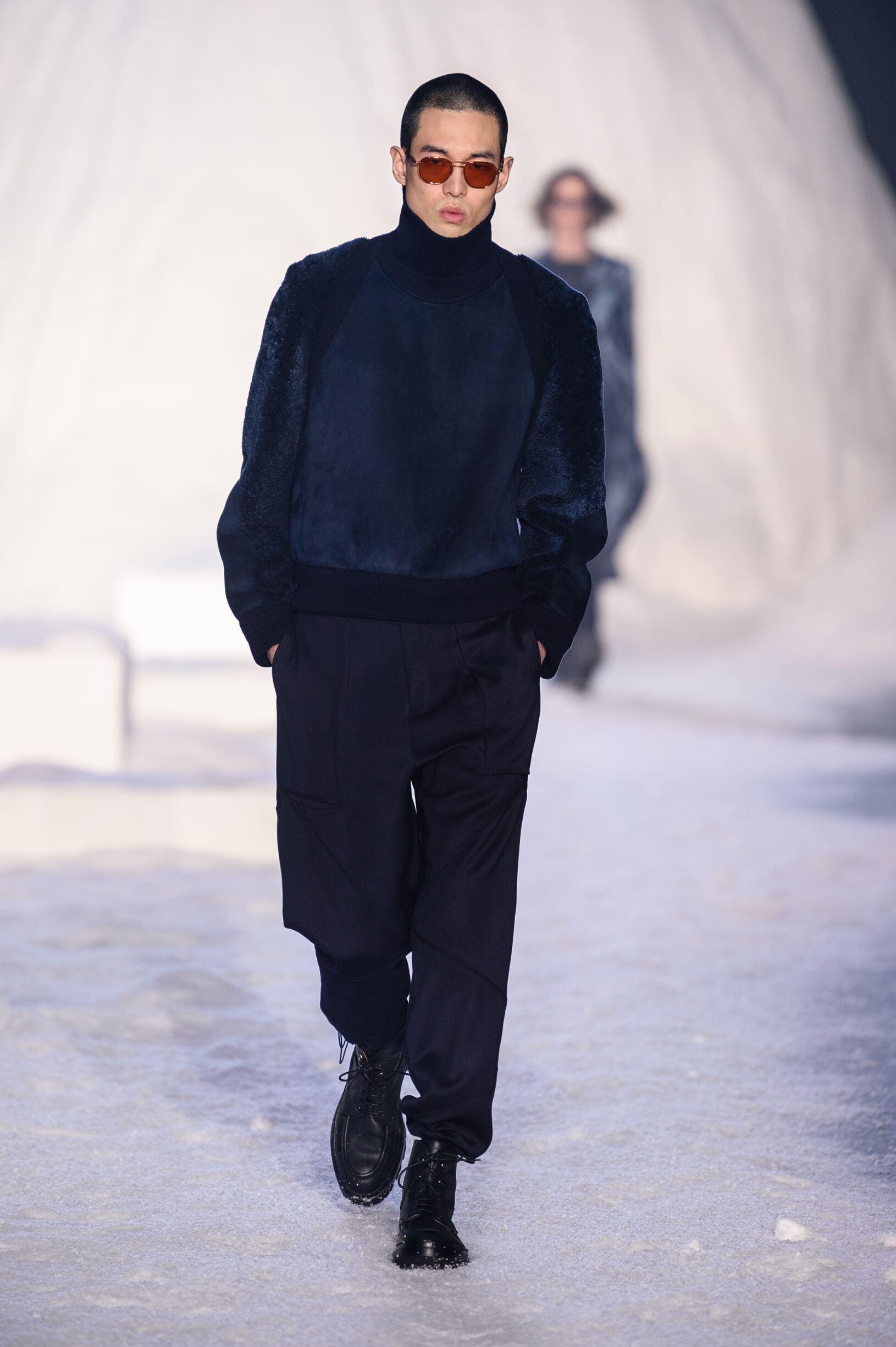 2018 Ermenegildo Zegna Couture Fall Catwalk