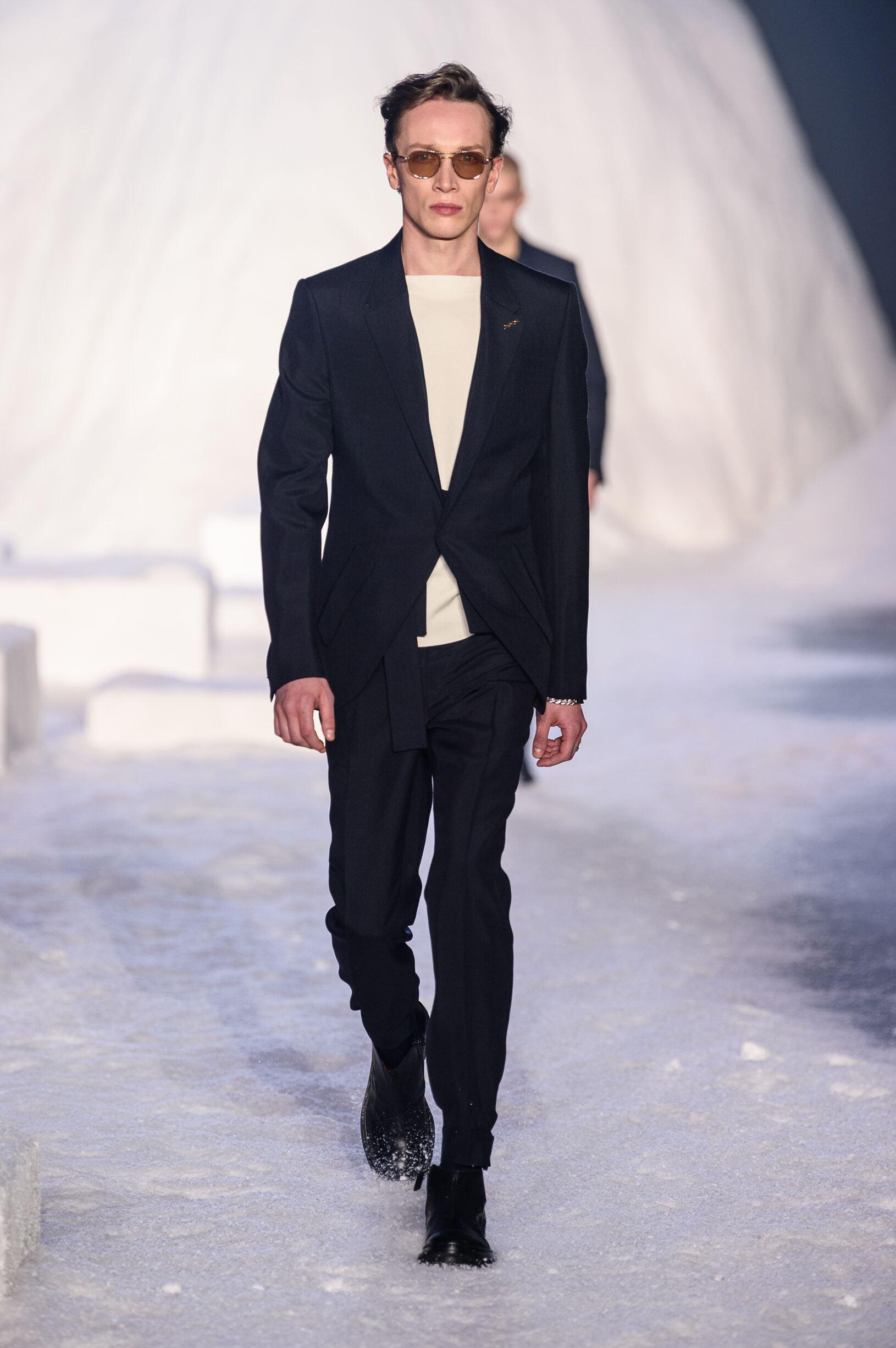 2018 Ermenegildo Zegna Couture Man Winter Catwalk