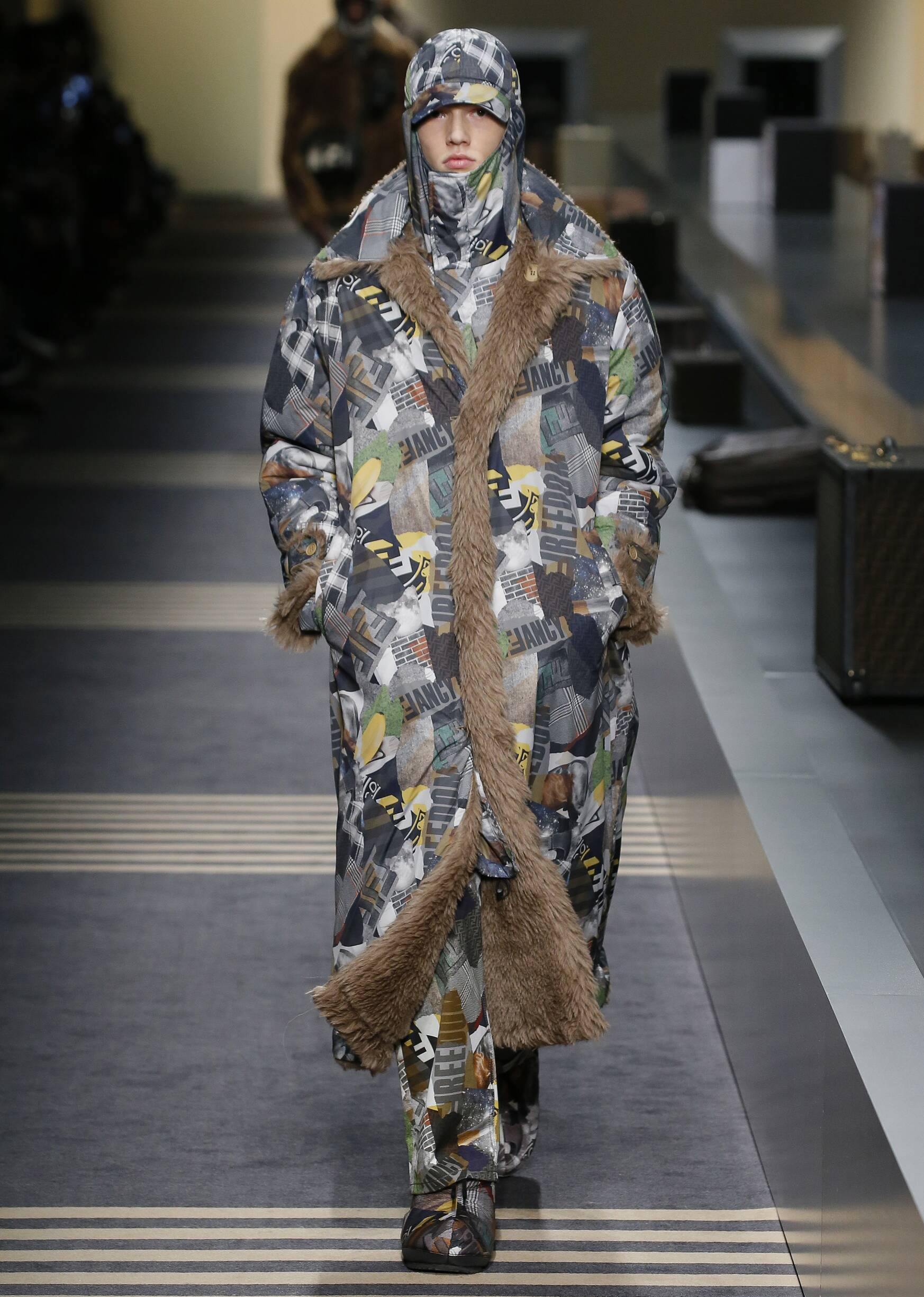 2018 Fendi Fall Catwalk