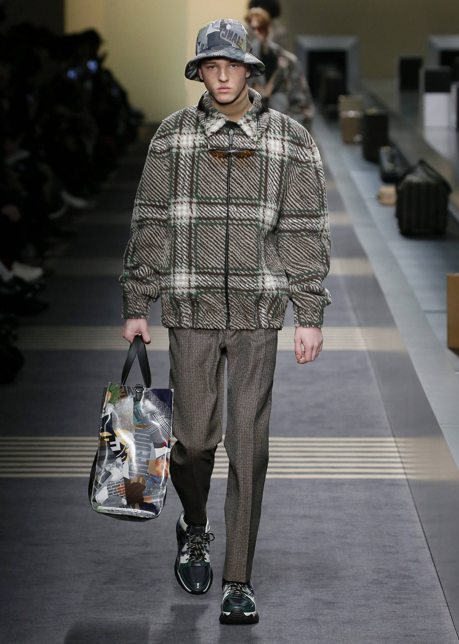 2018 Fendi Man Catwalk
