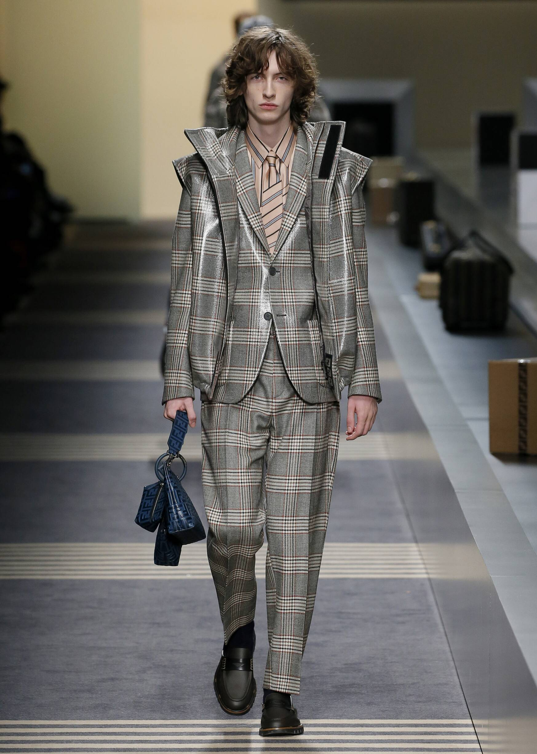 2018 Fendi Man Winter Catwalk