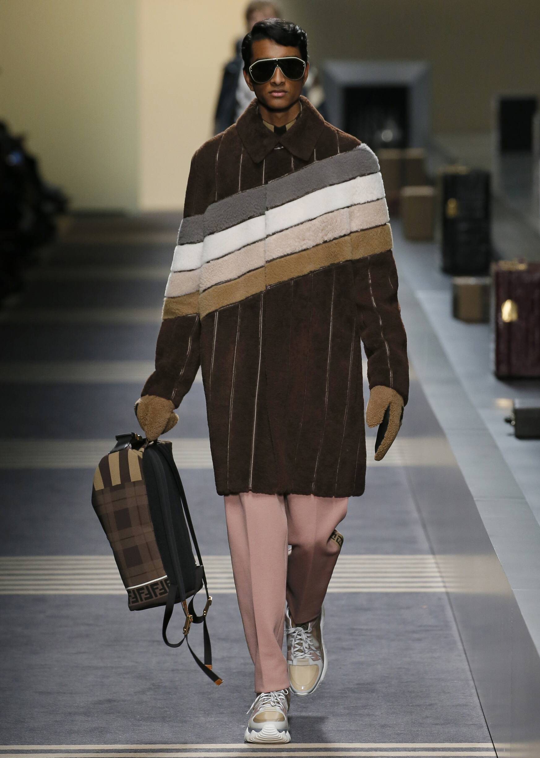2018 Fendi Man Winter Runway