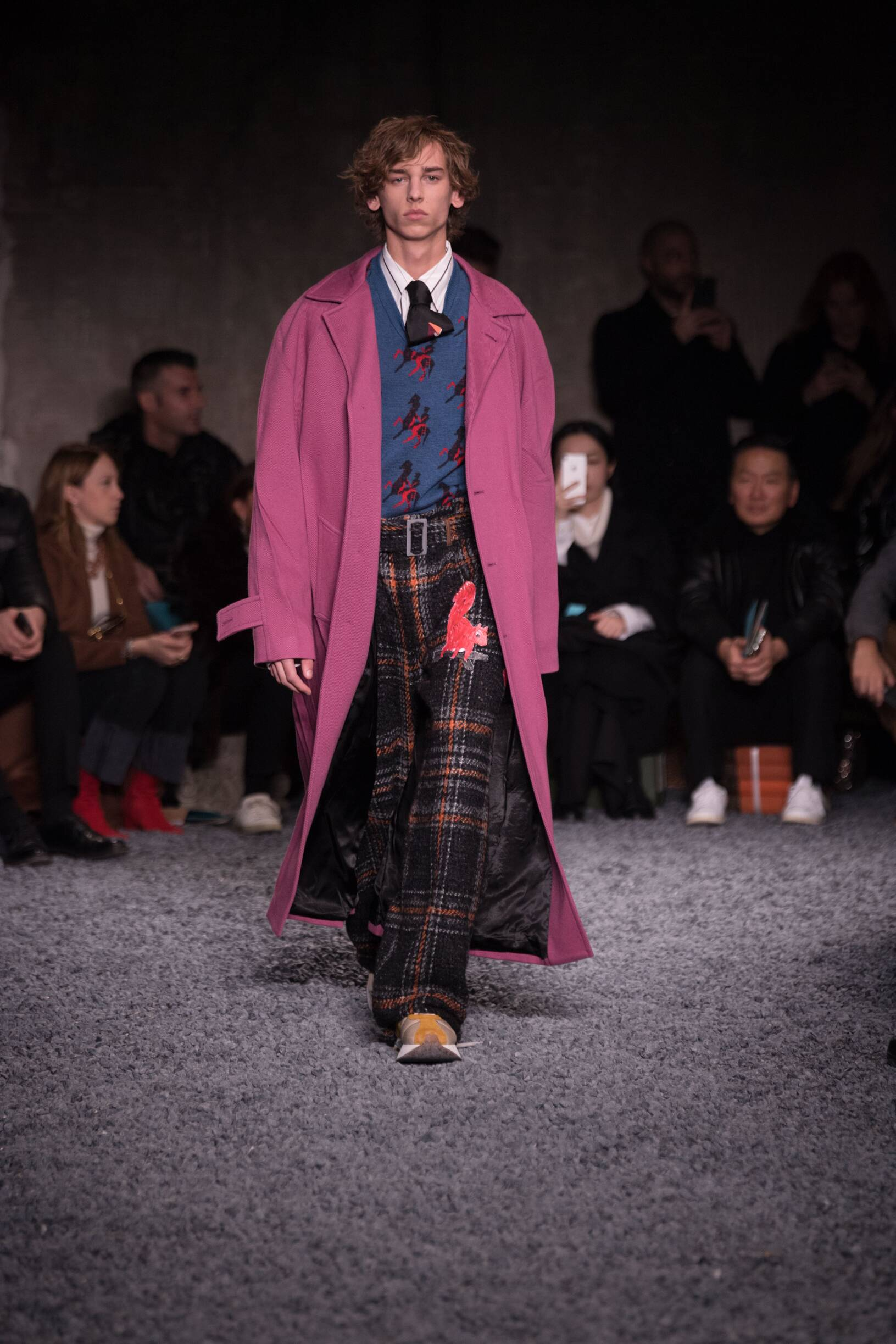 2018 Marni Man Winter Catwalk